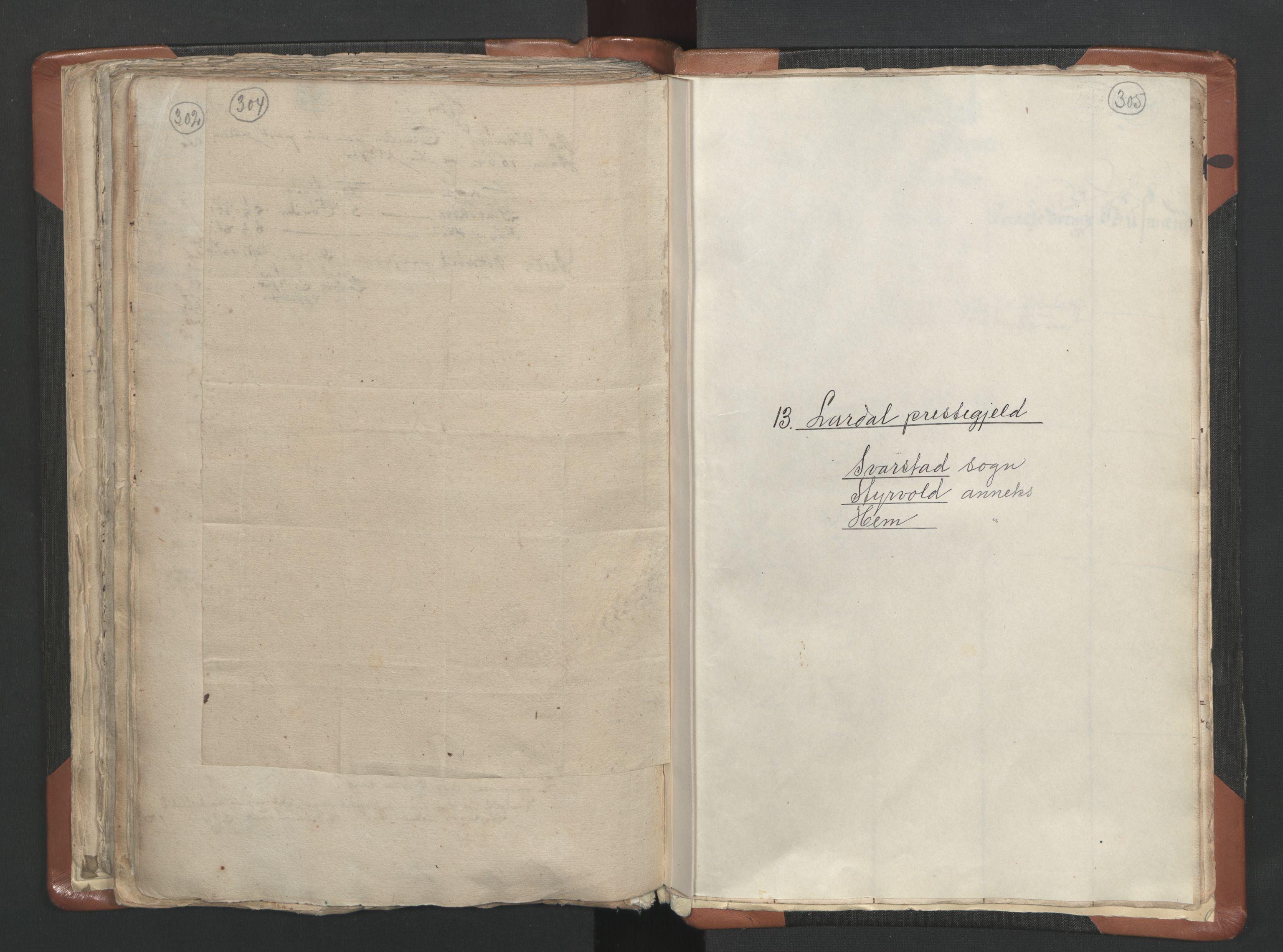 RA, Sogneprestenes manntall 1664-1666, nr. 10: Tønsberg prosti, 1664-1666, s. 304-305