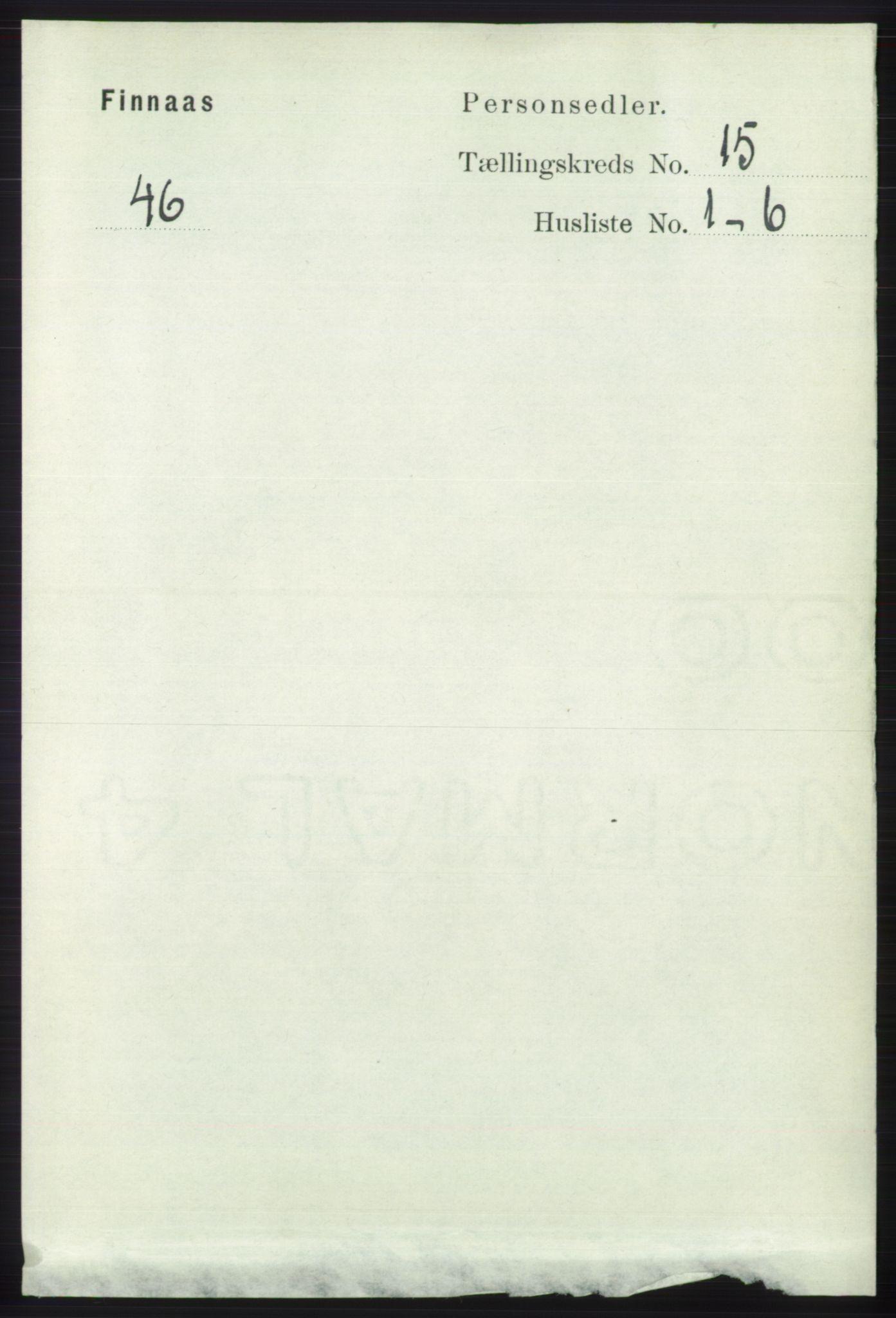 RA, Folketelling 1891 for 1218 Finnås herred, 1891, s. 5941