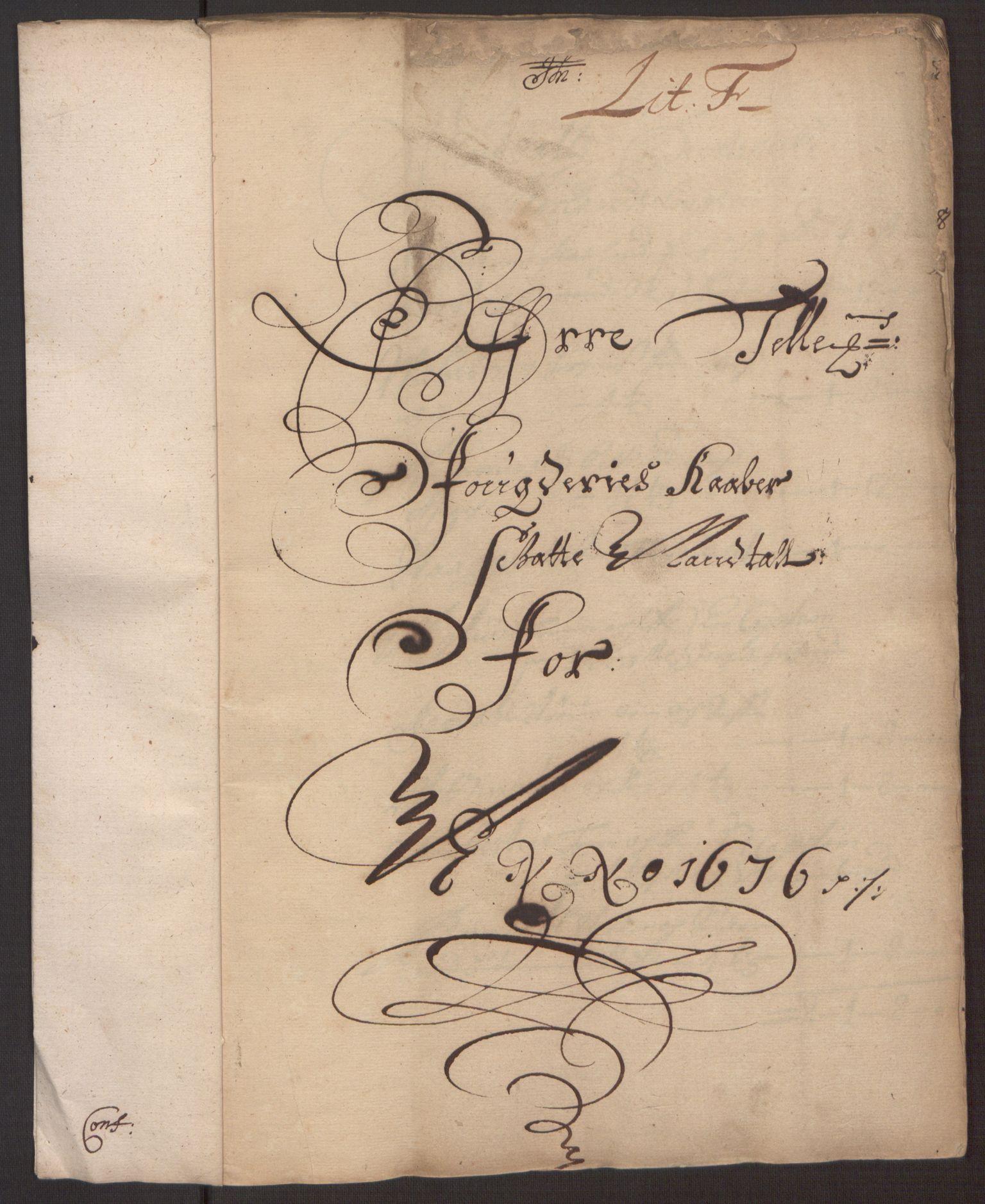 RA, Rentekammeret inntil 1814, Reviderte regnskaper, Fogderegnskap, R35/L2065: Fogderegnskap Øvre og Nedre Telemark, 1676, s. 150