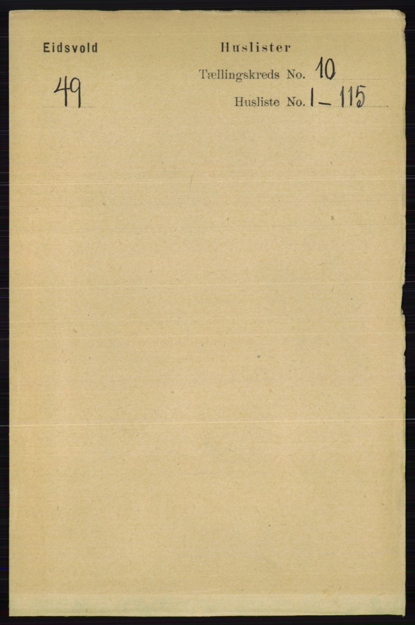 RA, Folketelling 1891 for 0237 Eidsvoll herred, 1891, s. 6675