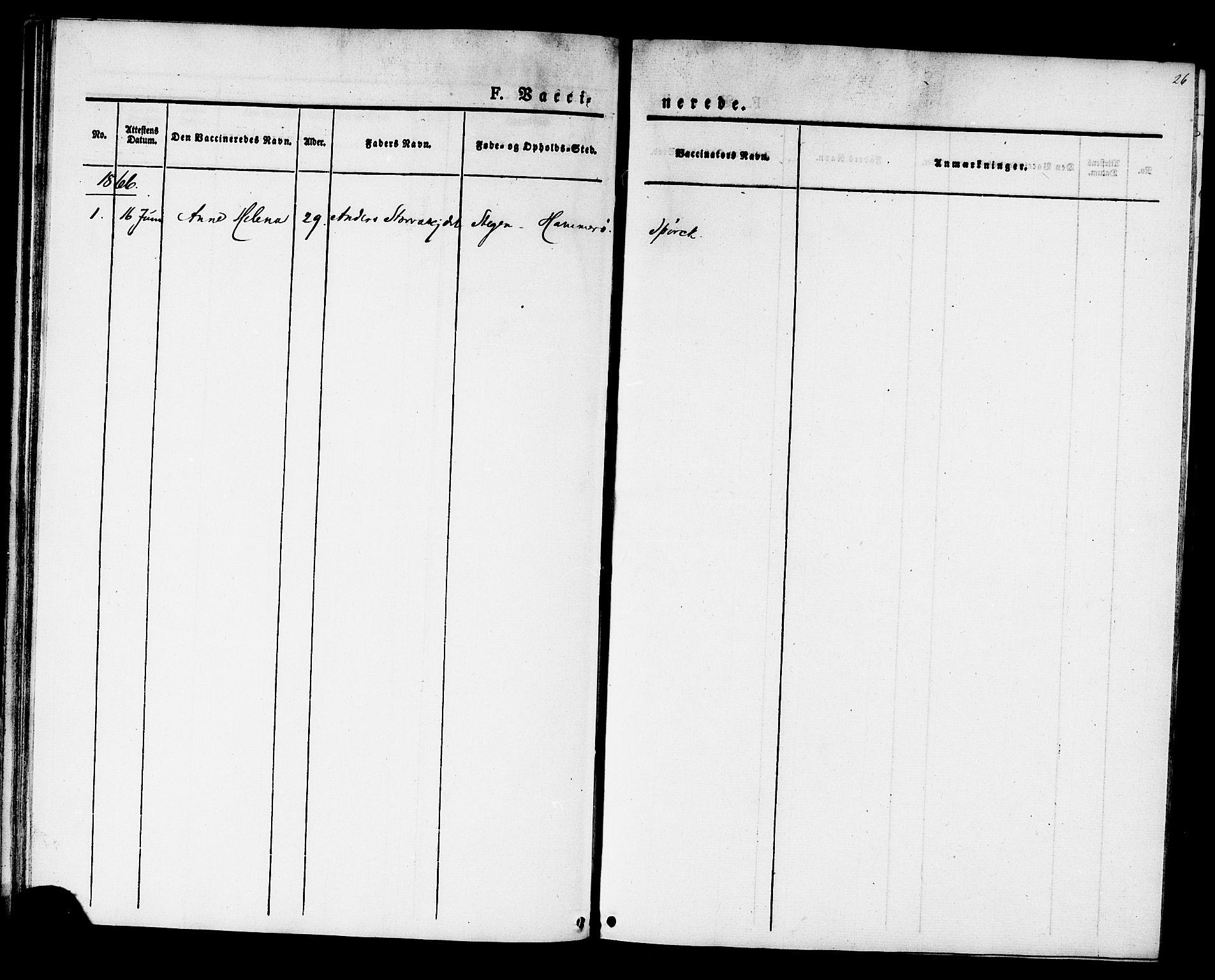 SAT, Ministerialprotokoller, klokkerbøker og fødselsregistre - Sør-Trøndelag, 624/L0481: Ministerialbok nr. 624A02, 1841-1869, s. 26