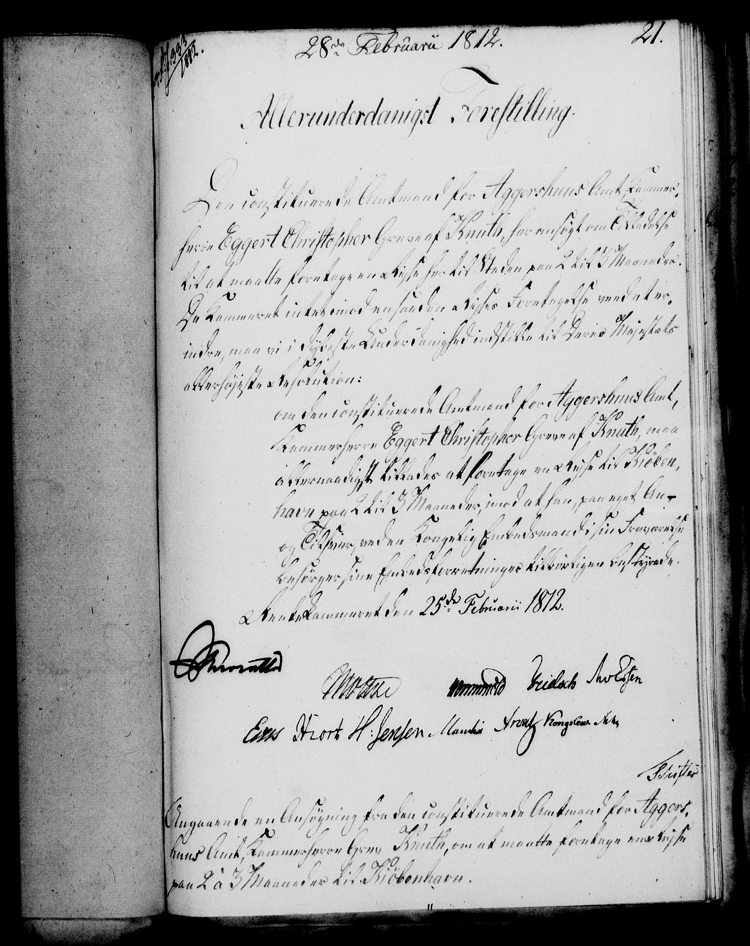 RA, Rentekammeret, Kammerkanselliet, G/Gf/Gfa/L0094: Norsk relasjons- og resolusjonsprotokoll (merket RK 52.94), 1812, s. 99
