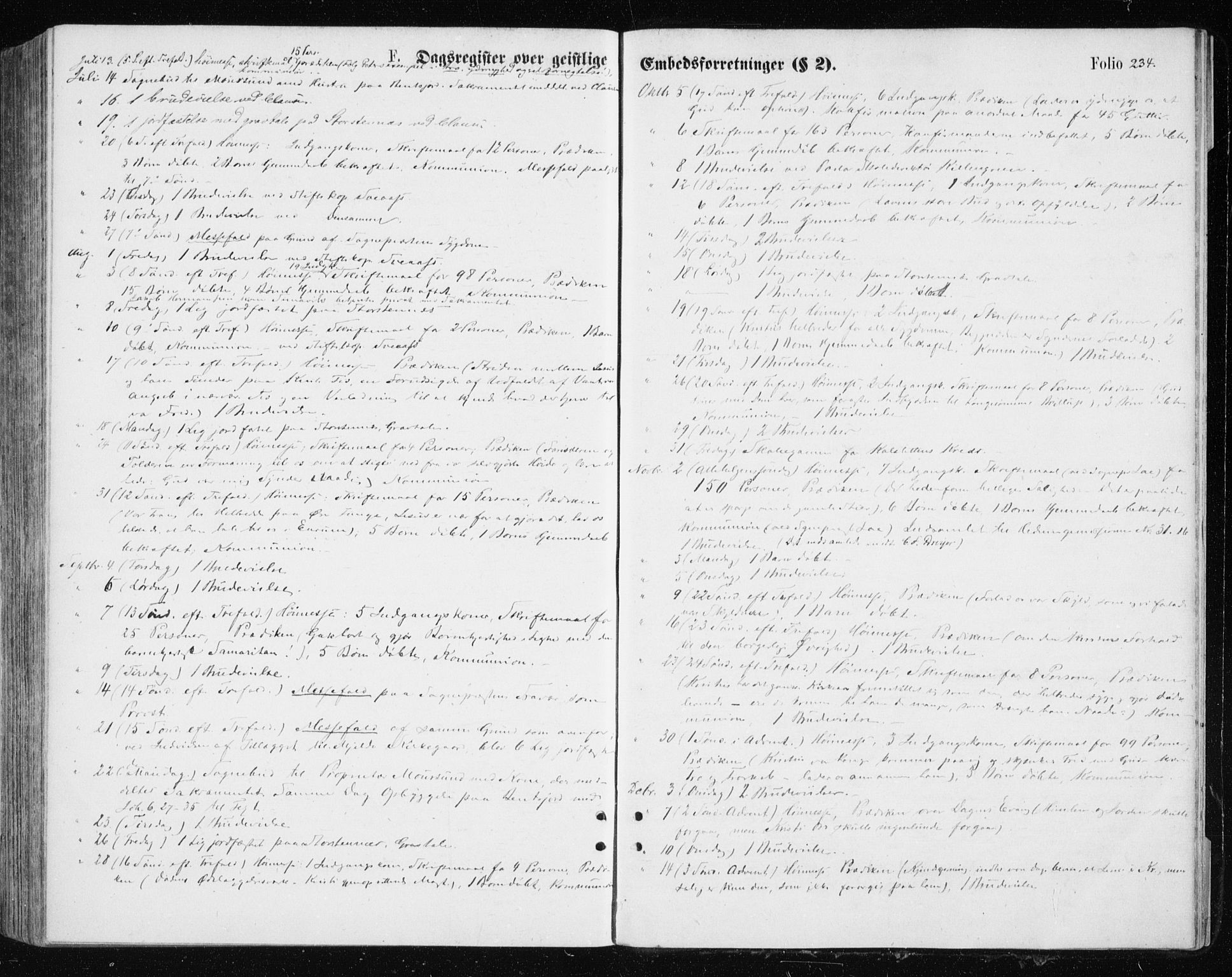 SATØ, Tromsøysund sokneprestkontor, G/Ga/L0003kirke: Ministerialbok nr. 3, 1875-1880, s. 234