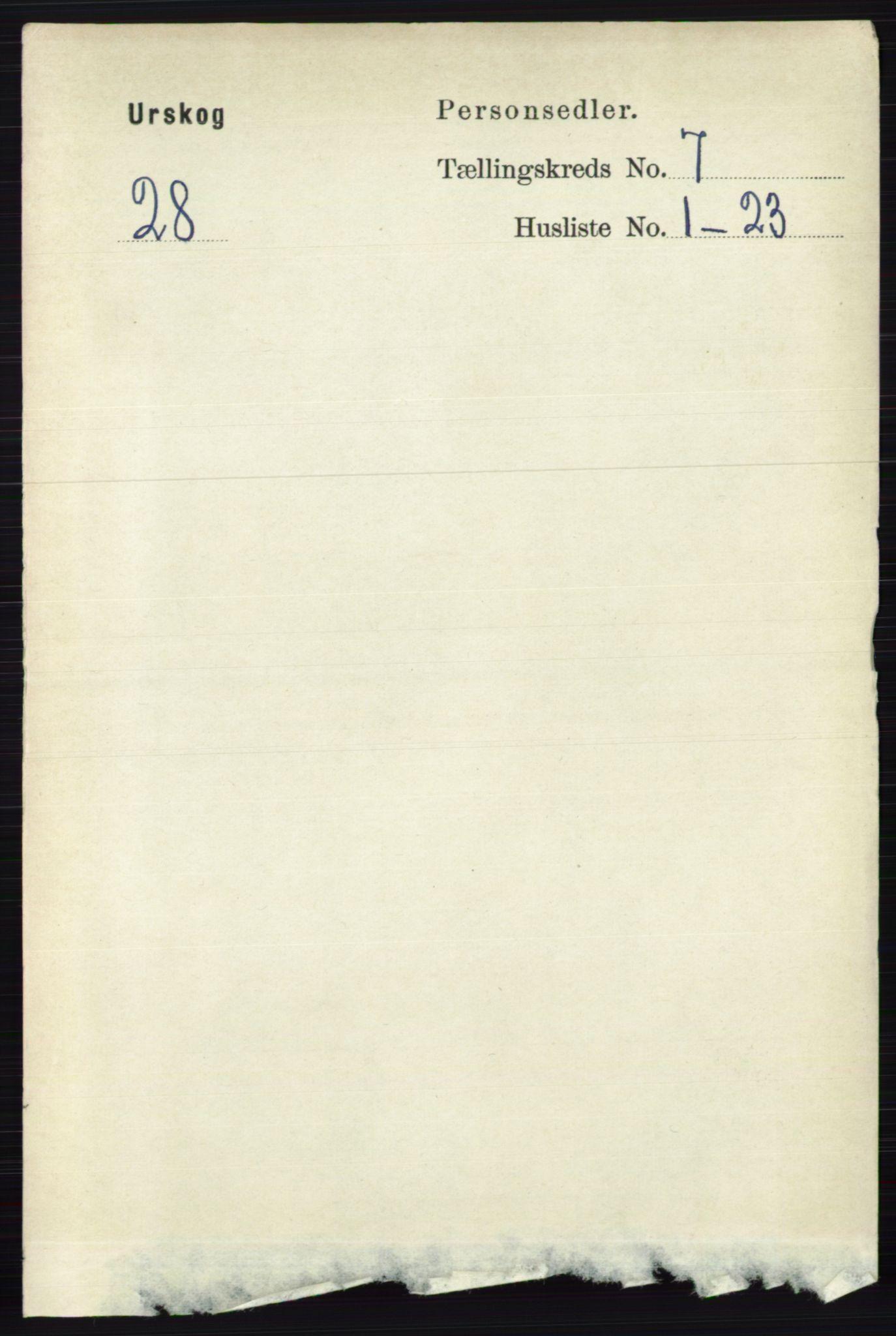 RA, Folketelling 1891 for 0224 Aurskog herred, 1891, s. 3264