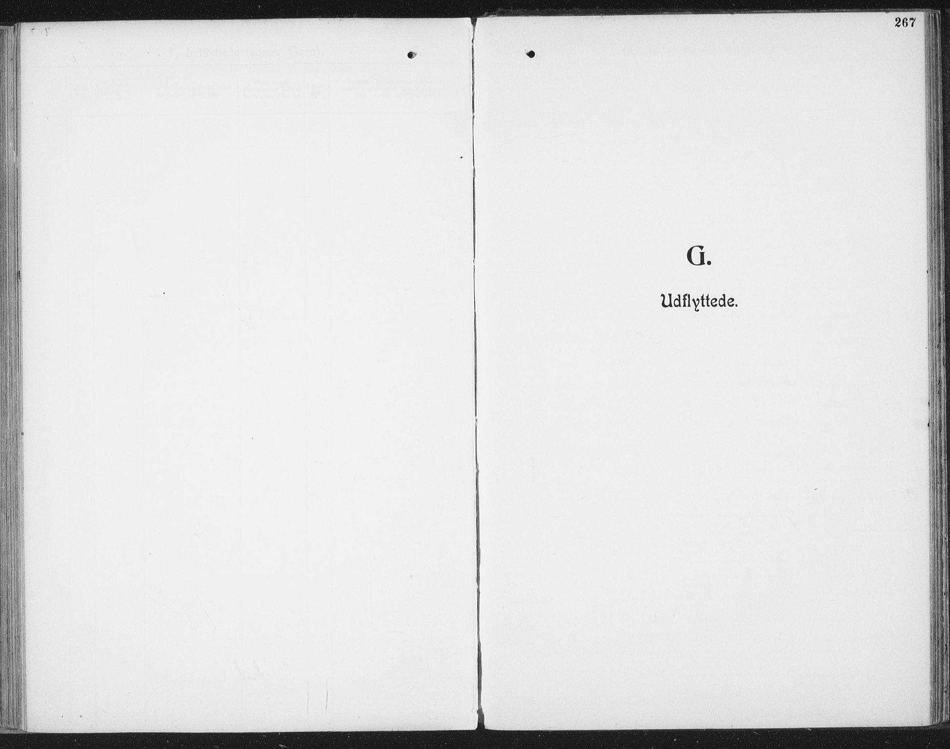 SAT, Ministerialprotokoller, klokkerbøker og fødselsregistre - Nordland, 804/L0081: Ministerialbok nr. 804A02, 1901-1915, s. 267