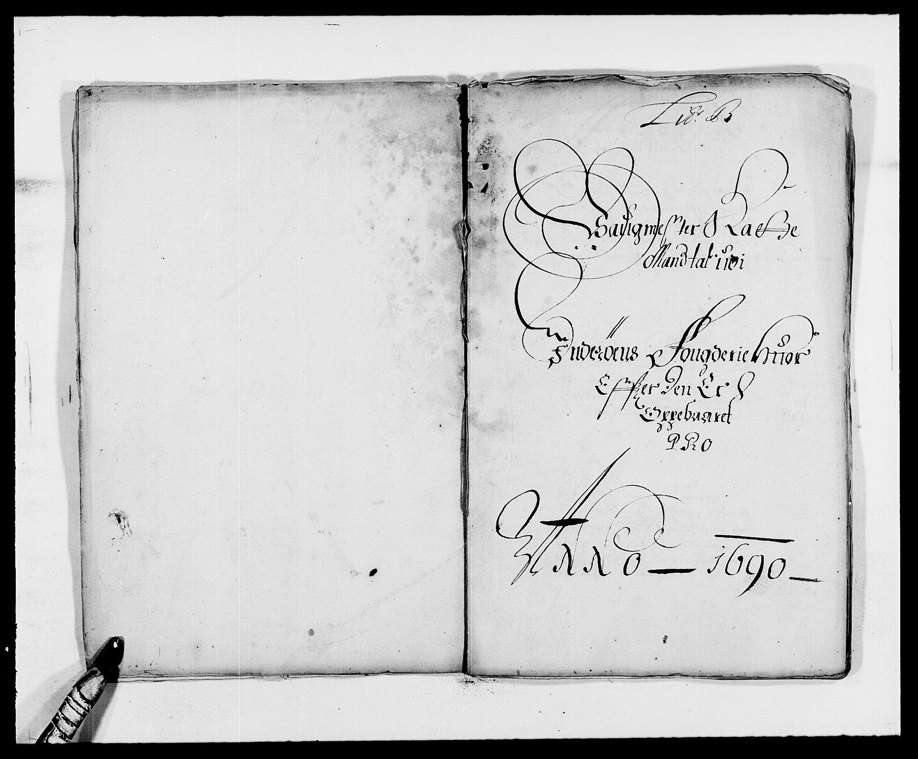RA, Rentekammeret inntil 1814, Reviderte regnskaper, Fogderegnskap, R63/L4307: Fogderegnskap Inderøy, 1690-1691, s. 70