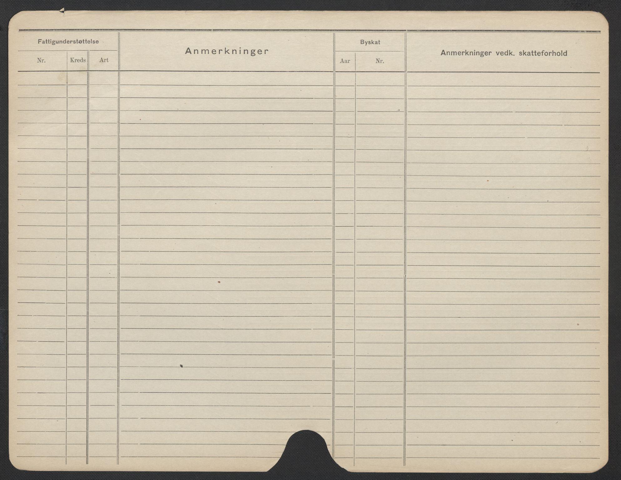 SAO, Oslo folkeregister, Registerkort, F/Fa/Fac/L0019: Kvinner, 1906-1914, s. 1175b