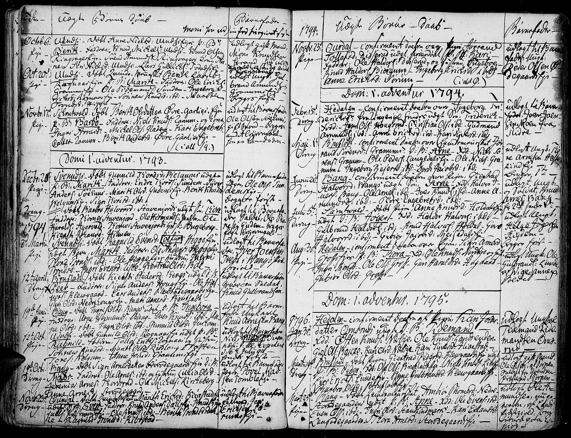 SAH, Aurdal prestekontor, Ministerialbok nr. 6, 1781-1804, s. 127