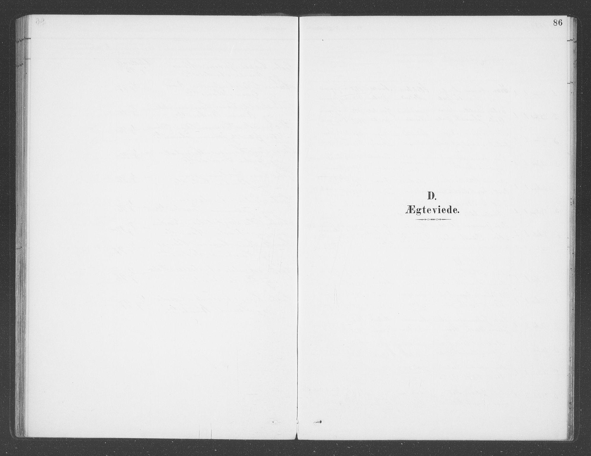 SAB, Balestrand sokneprestembete, H/Haa/Haab/L0001: Ministerialbok nr. B  1, 1889-1910, s. 86