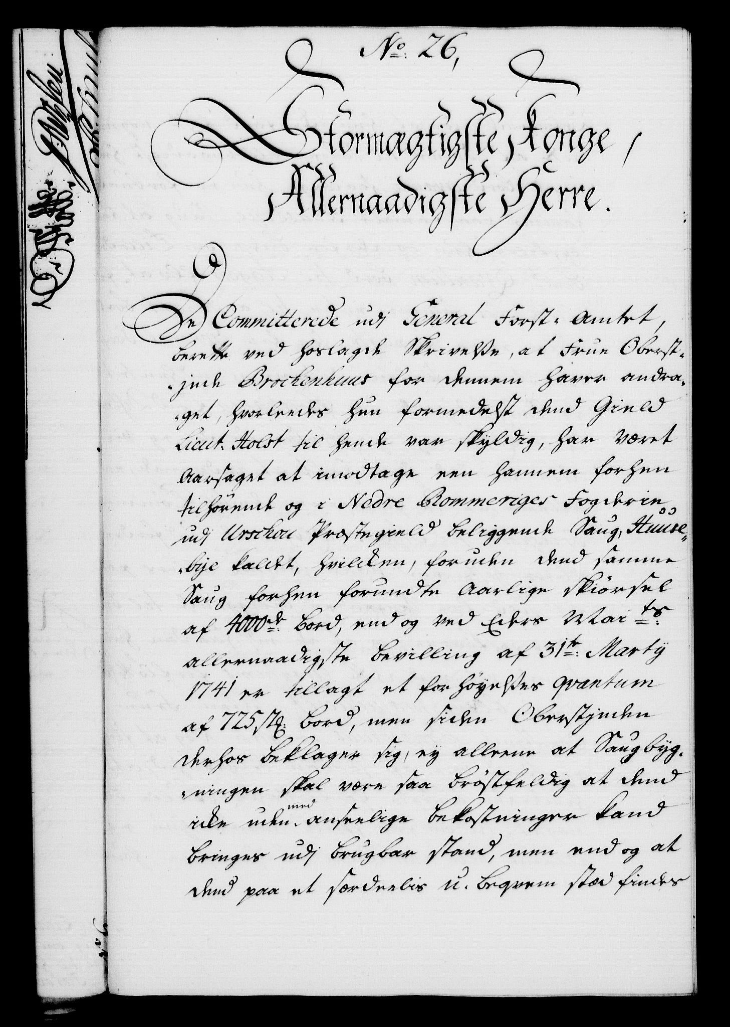 RA, Rentekammeret, Kammerkanselliet, G/Gf/Gfa/L0026: Norsk relasjons- og resolusjonsprotokoll (merket RK 52.26), 1743, s. 190
