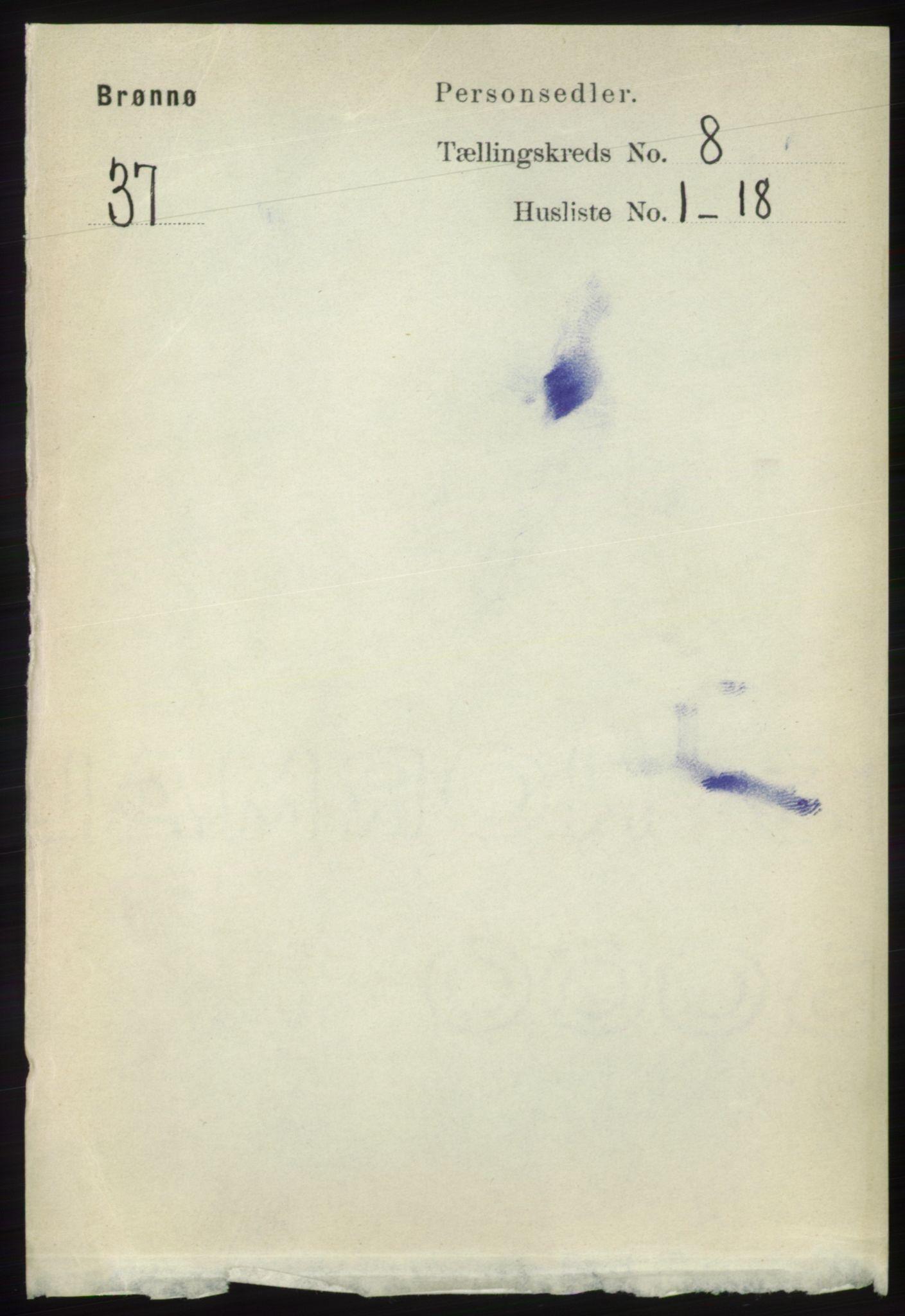 RA, Folketelling 1891 for 1814 Brønnøy herred, 1891, s. 4334