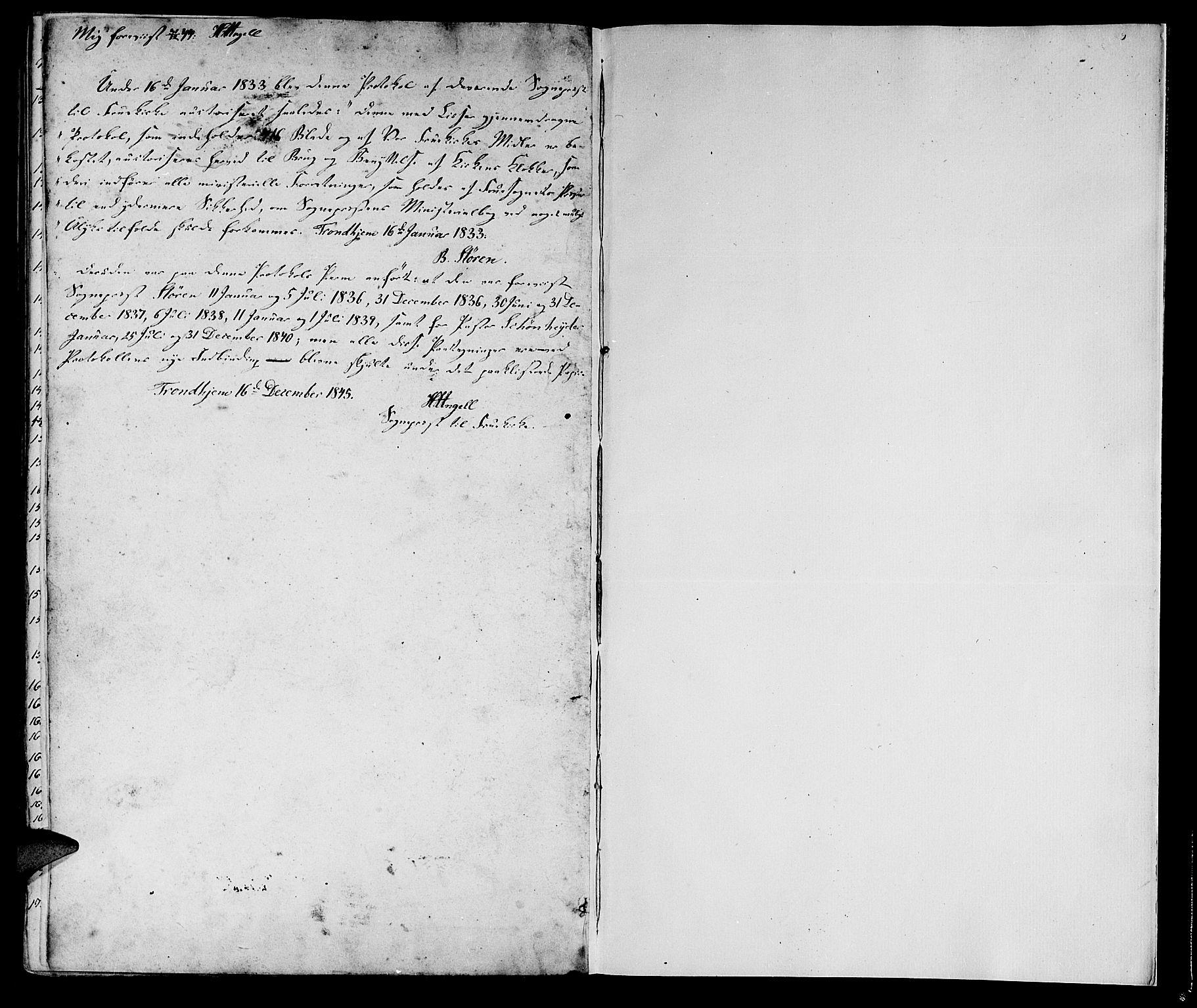 SAT, Ministerialprotokoller, klokkerbøker og fødselsregistre - Sør-Trøndelag, 602/L0136: Klokkerbok nr. 602C04, 1833-1845