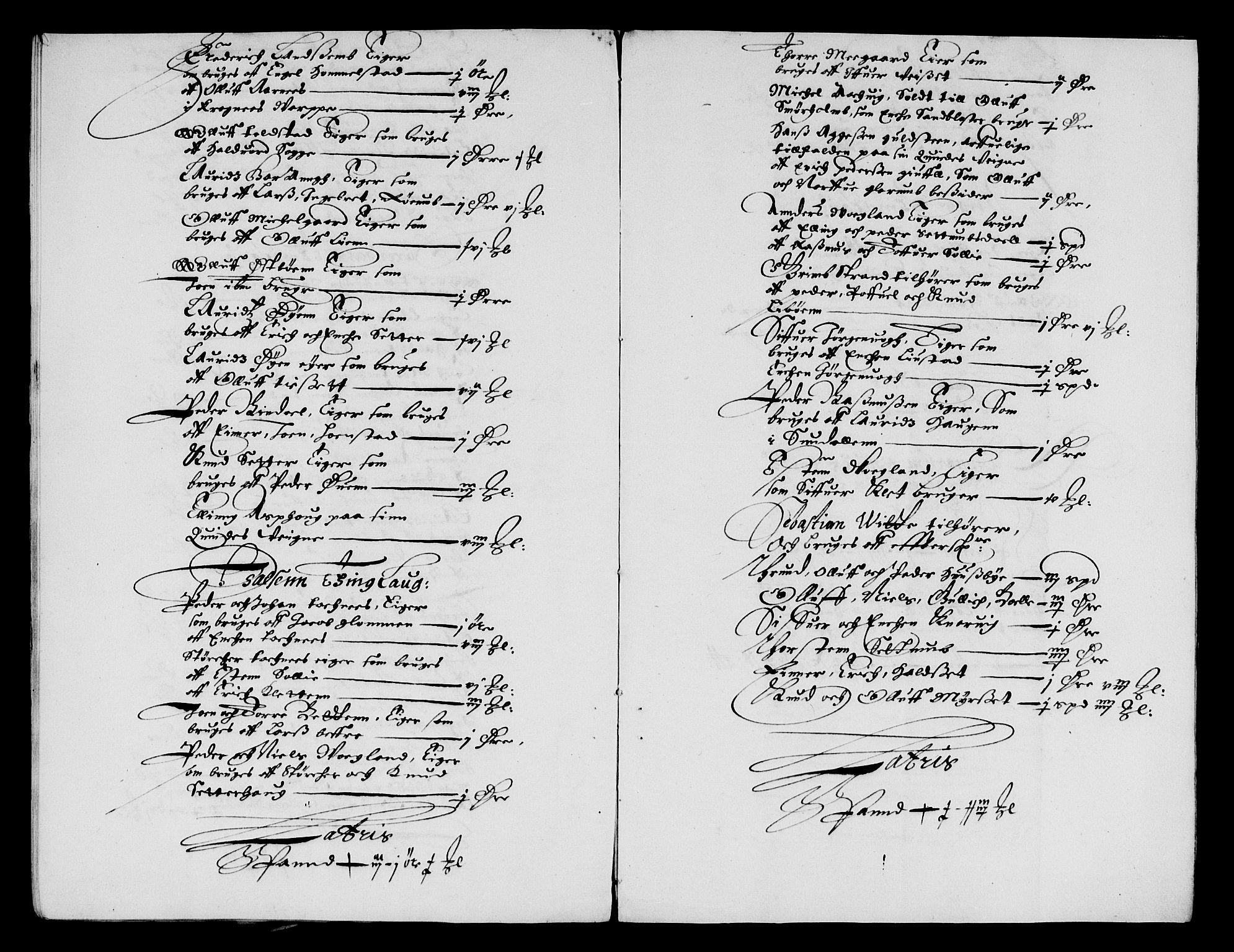 RA, Rentekammeret inntil 1814, Reviderte regnskaper, Lensregnskaper, R/Rb/Rbw/L0123: Trondheim len, 1655-1656
