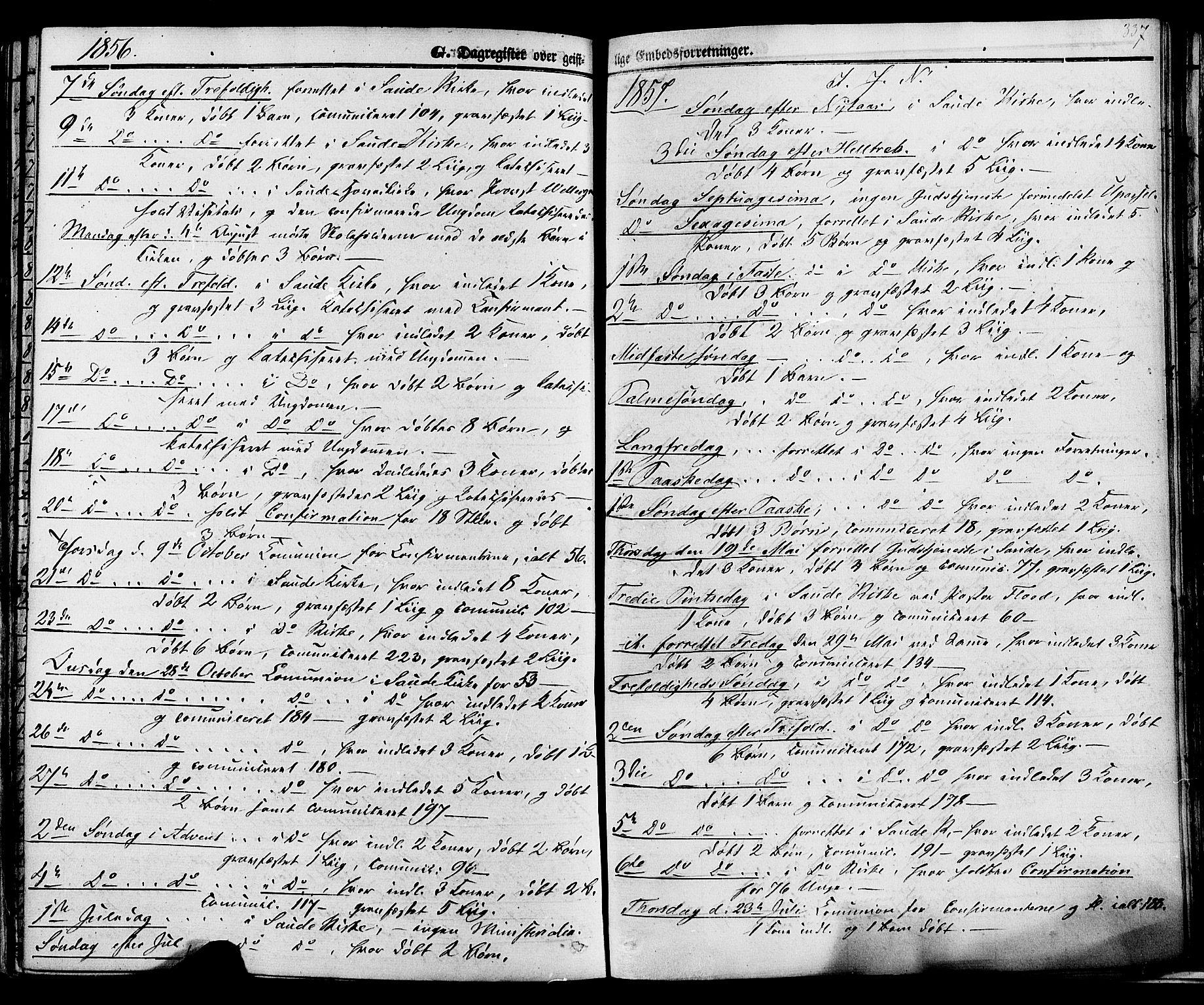SAKO, Sauherad kirkebøker, F/Fa/L0007: Ministerialbok nr. I 7, 1851-1873, s. 337
