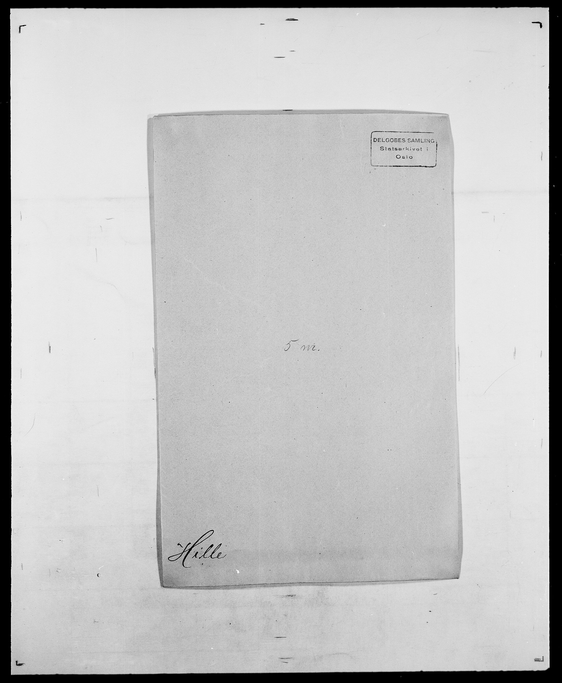 SAO, Delgobe, Charles Antoine - samling, D/Da/L0017: Helander - Hjørne, s. 426