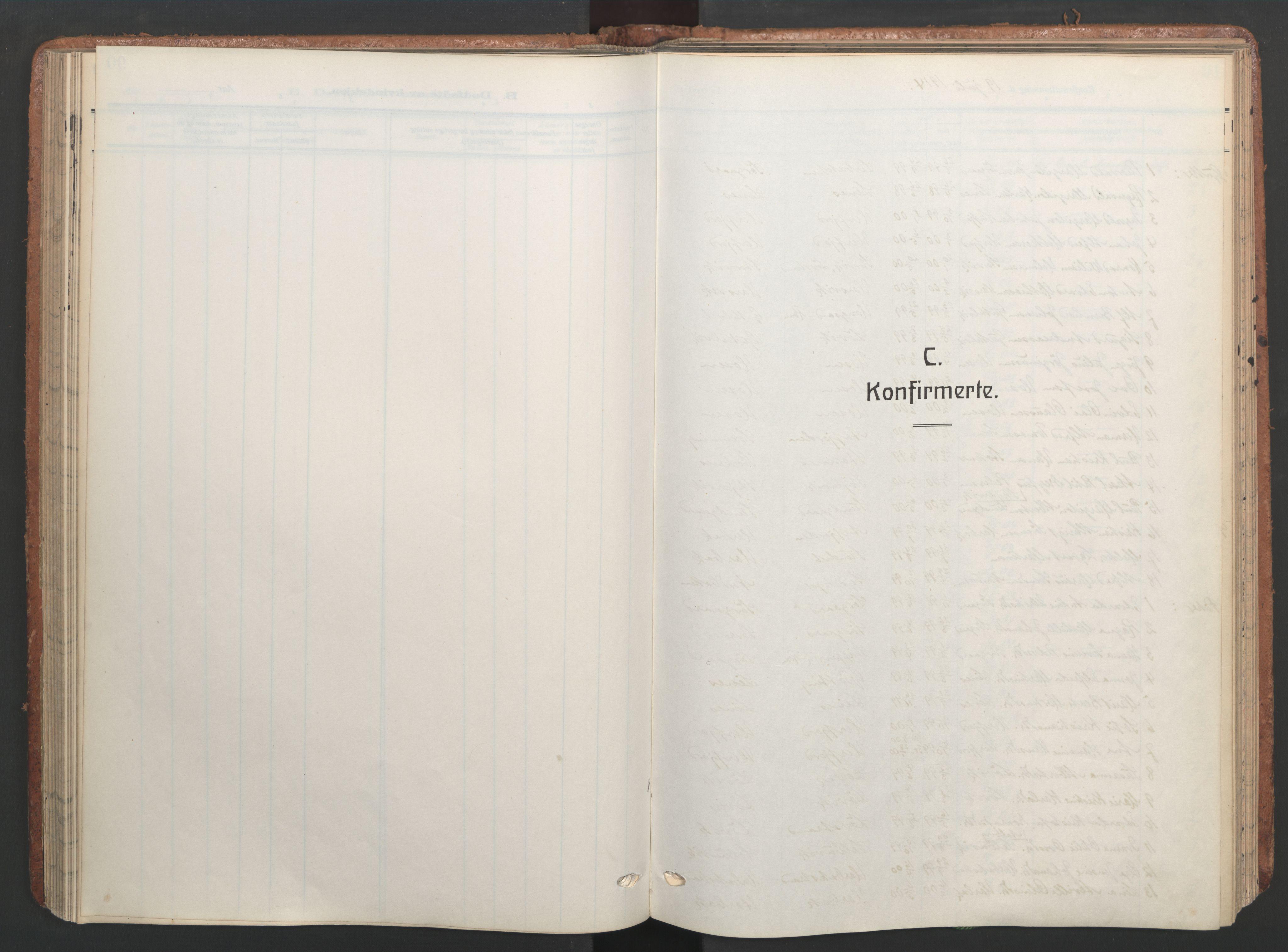 SAT, Ministerialprotokoller, klokkerbøker og fødselsregistre - Sør-Trøndelag, 656/L0694: Ministerialbok nr. 656A03, 1914-1931, s. 84