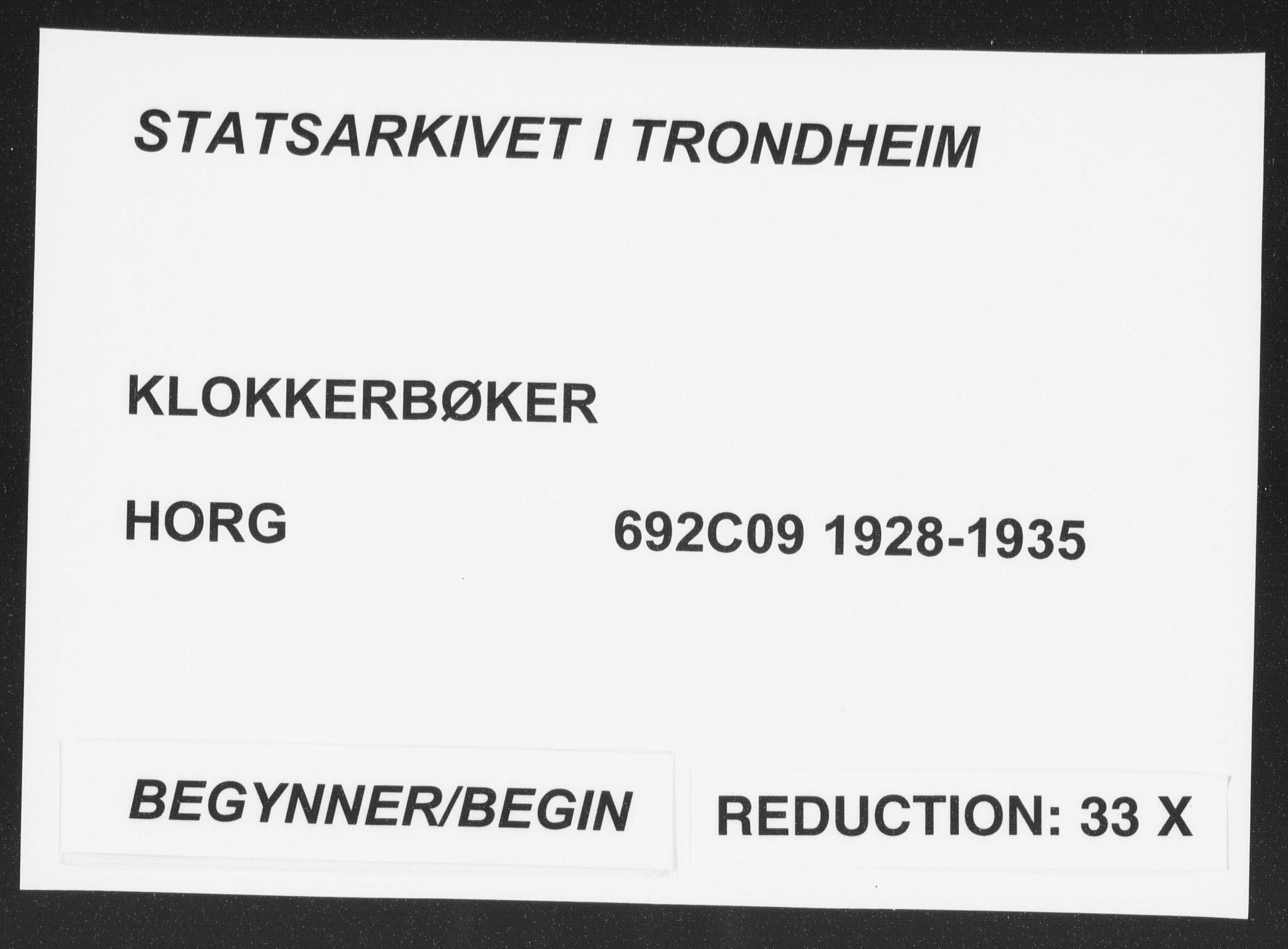 SAT, Ministerialprotokoller, klokkerbøker og fødselsregistre - Sør-Trøndelag, 692/L1114: Klokkerbok nr. 692C09, 1928-1935