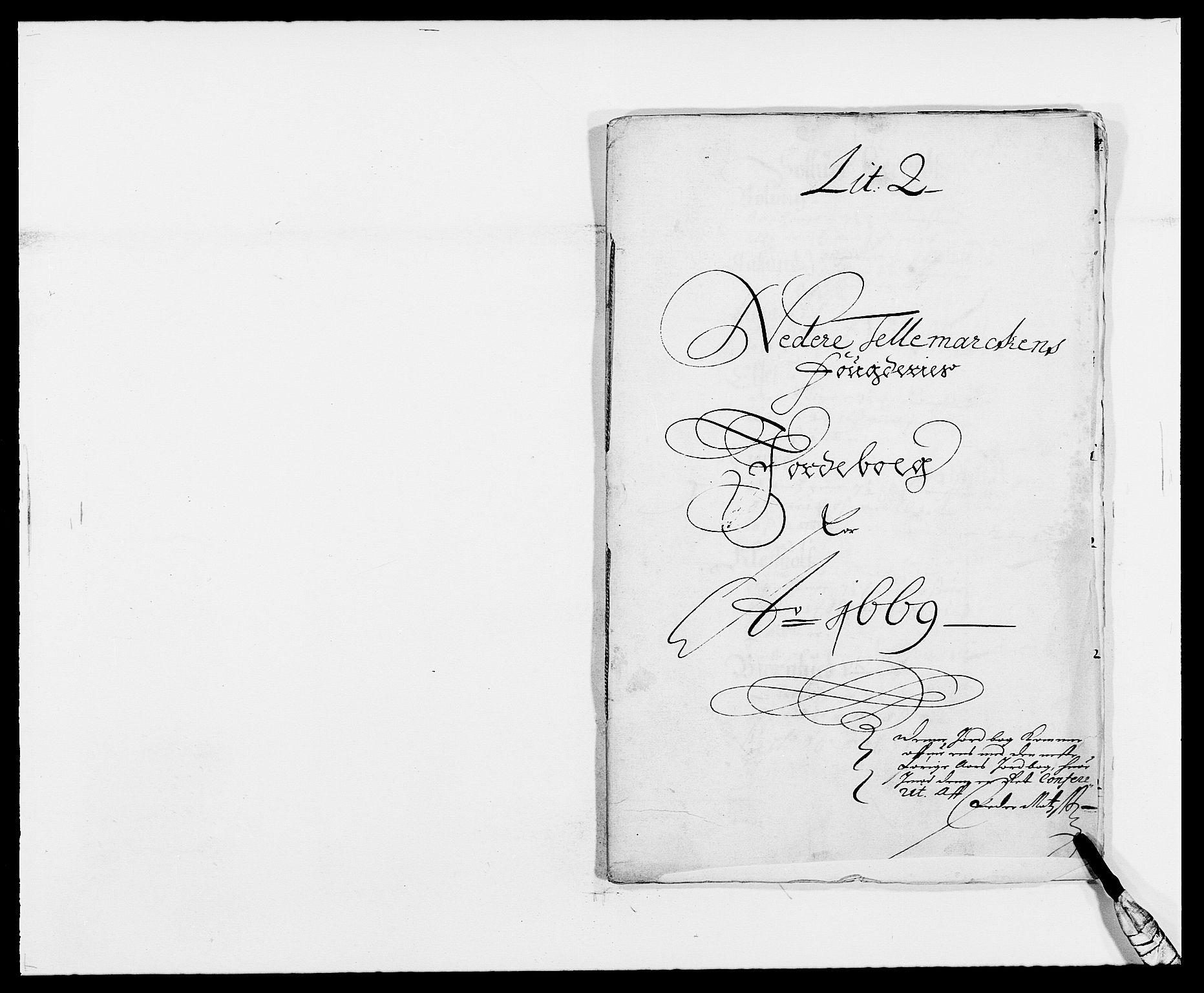 RA, Rentekammeret inntil 1814, Reviderte regnskaper, Fogderegnskap, R35/L2058: Fogderegnskap Øvre og Nedre Telemark, 1668-1670, s. 306