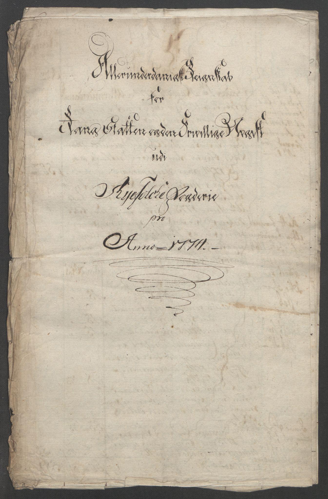 RA, Rentekammeret inntil 1814, Reviderte regnskaper, Fogderegnskap, R47/L2972: Ekstraskatten Ryfylke, 1762-1780, s. 434