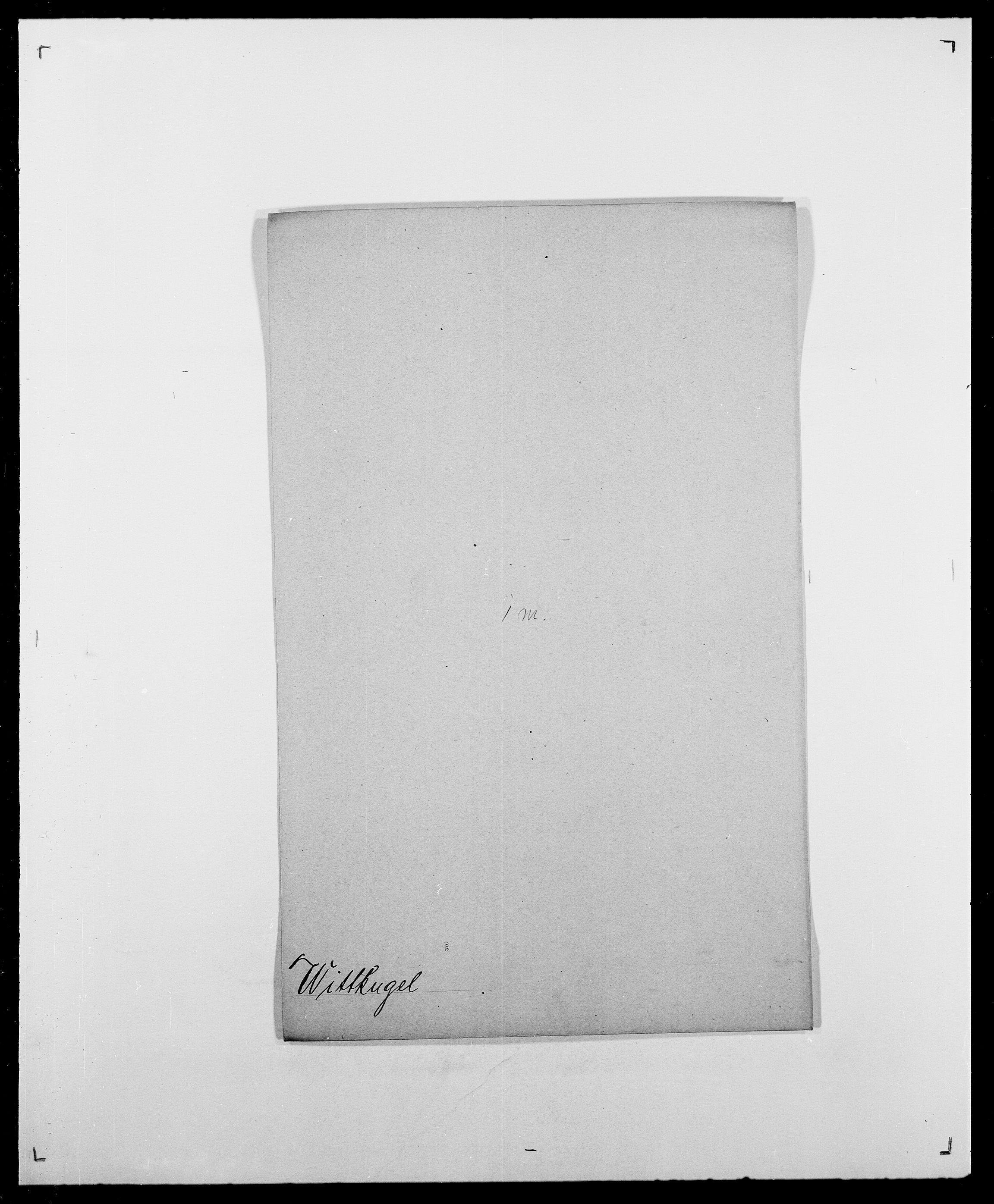 SAO, Delgobe, Charles Antoine - samling, D/Da/L0042: Vilain - Wulf, Wulff, se også Wolf, s. 495