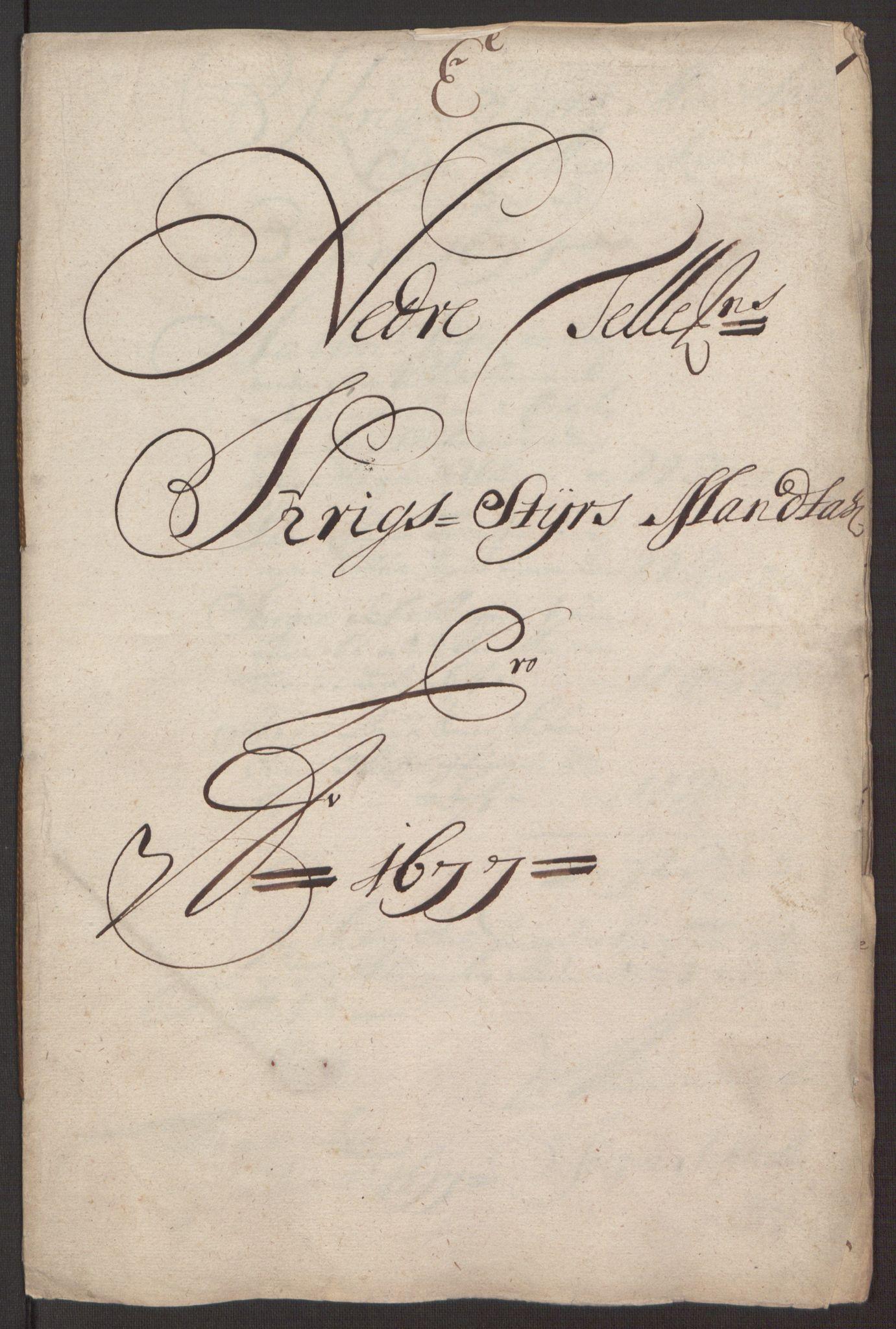 RA, Rentekammeret inntil 1814, Reviderte regnskaper, Fogderegnskap, R35/L2068: Fogderegnskap Øvre og Nedre Telemark, 1677, s. 115