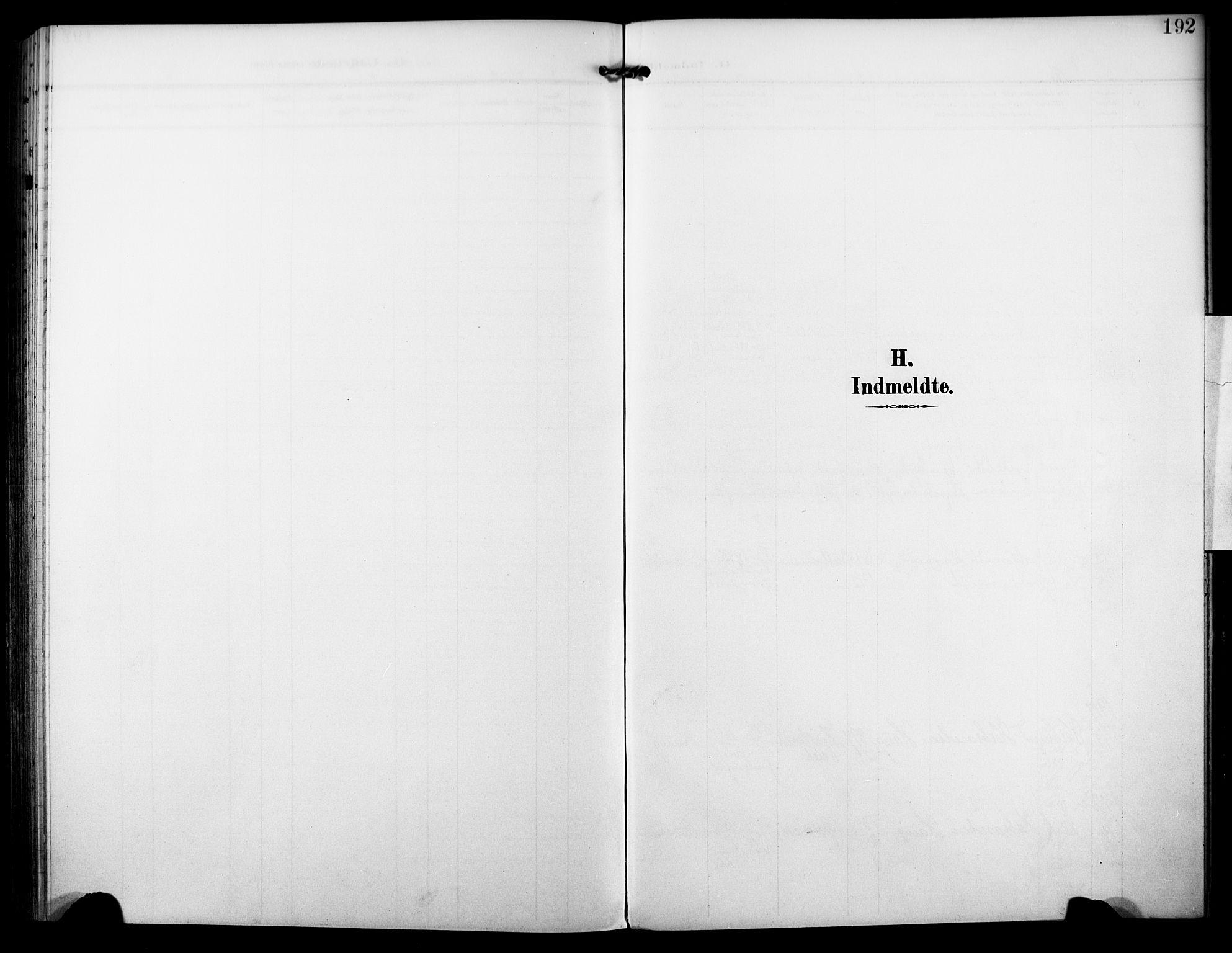SAKO, Nore kirkebøker, F/Fb/L0003: Ministerialbok nr. II 3, 1906-1926, s. 192