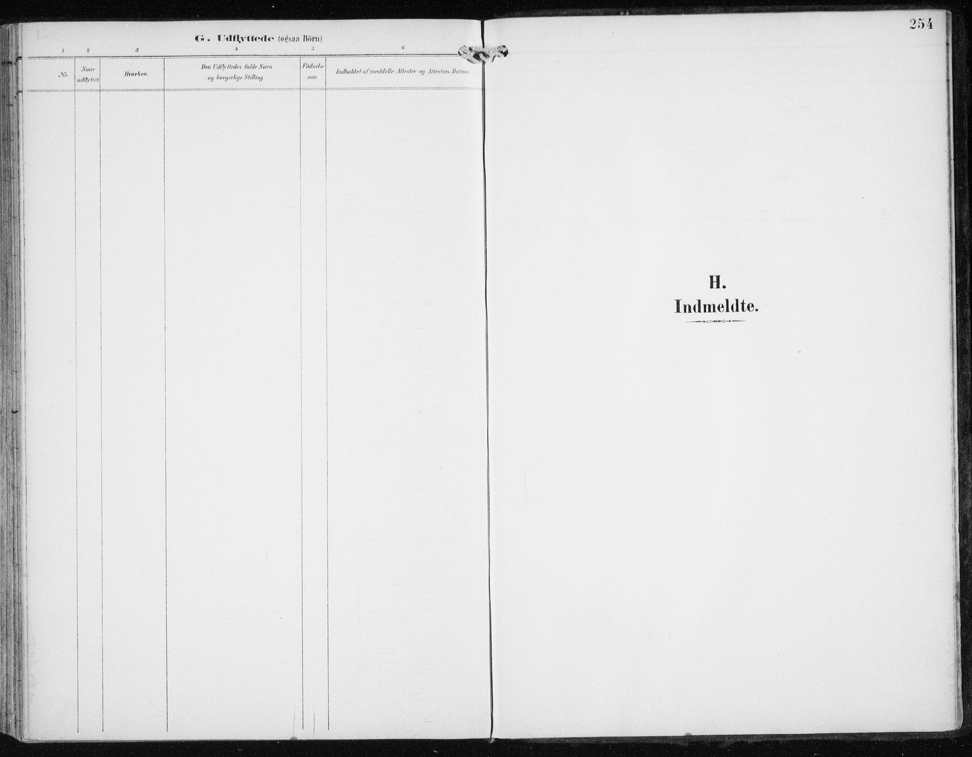SATØ, Skjervøy sokneprestkontor, H/Ha/Haa/L0017kirke: Ministerialbok nr. 17, 1895-1911, s. 254