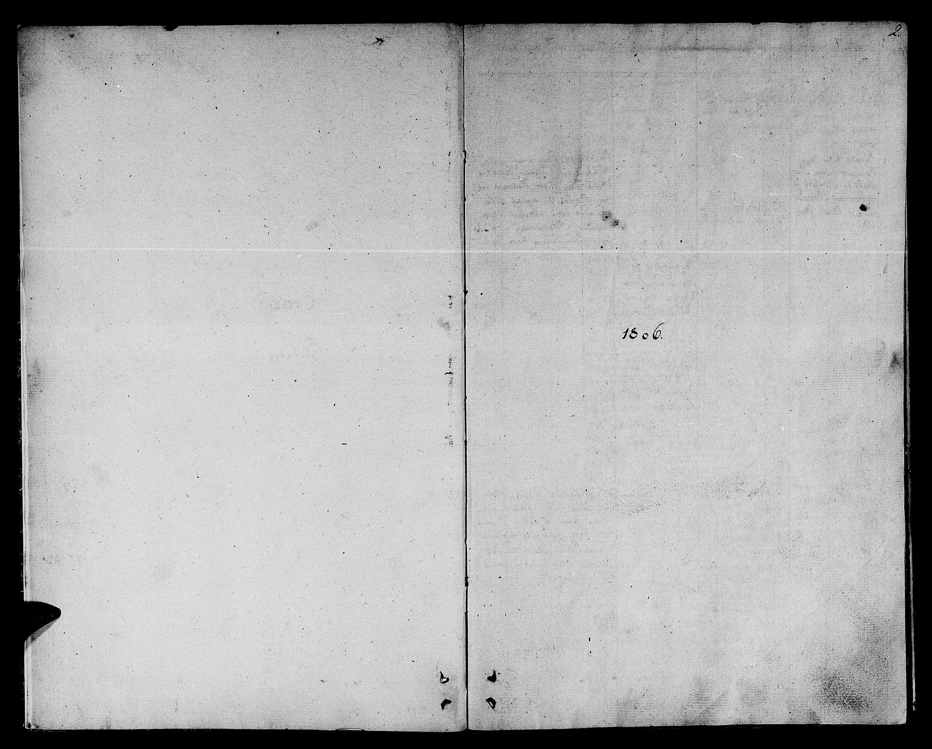 SAT, Ministerialprotokoller, klokkerbøker og fødselsregistre - Sør-Trøndelag, 678/L0894: Ministerialbok nr. 678A04, 1806-1815, s. 2