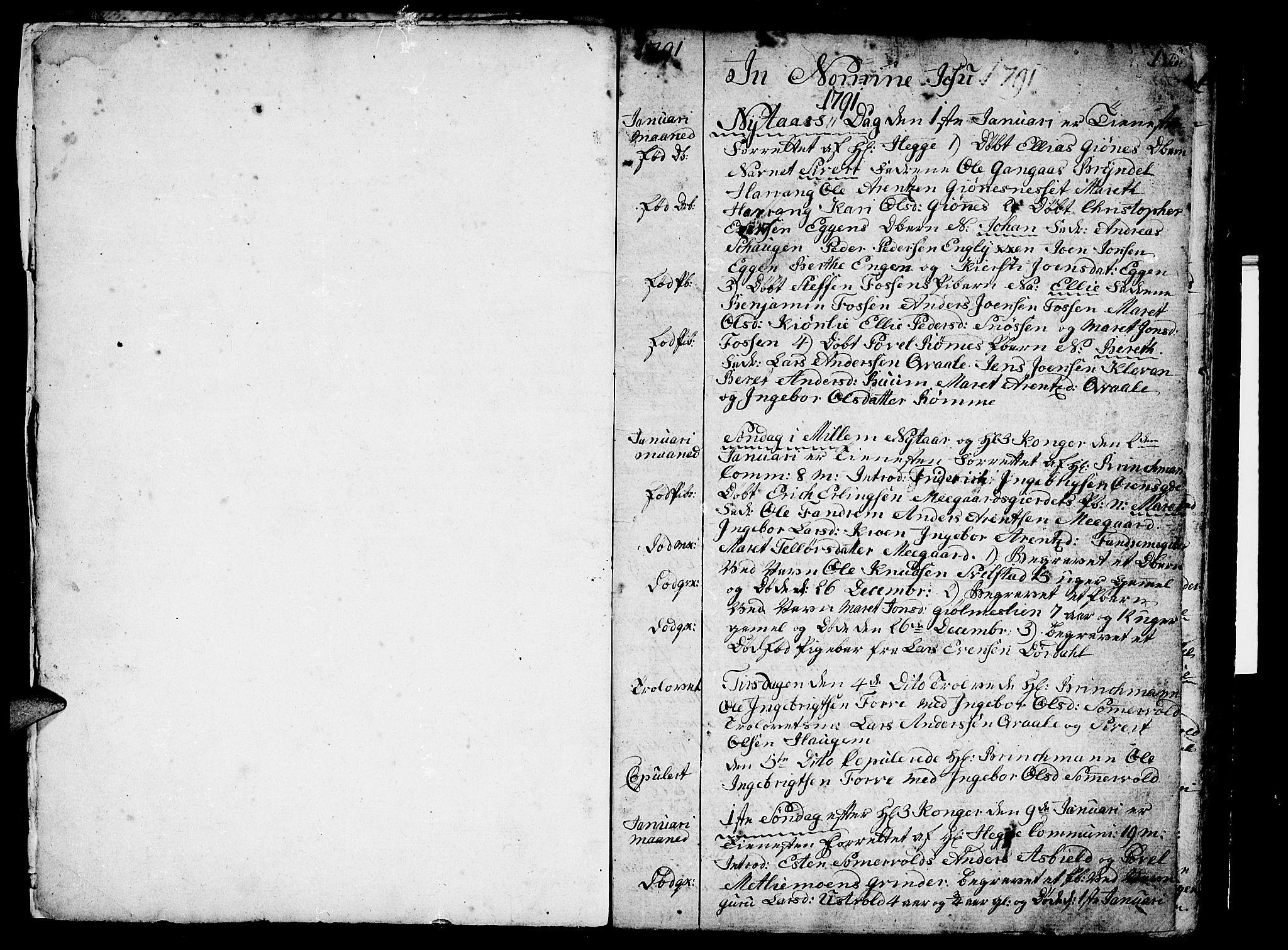SAT, Ministerialprotokoller, klokkerbøker og fødselsregistre - Sør-Trøndelag, 668/L0815: Klokkerbok nr. 668C04, 1791-1815, s. 0-1