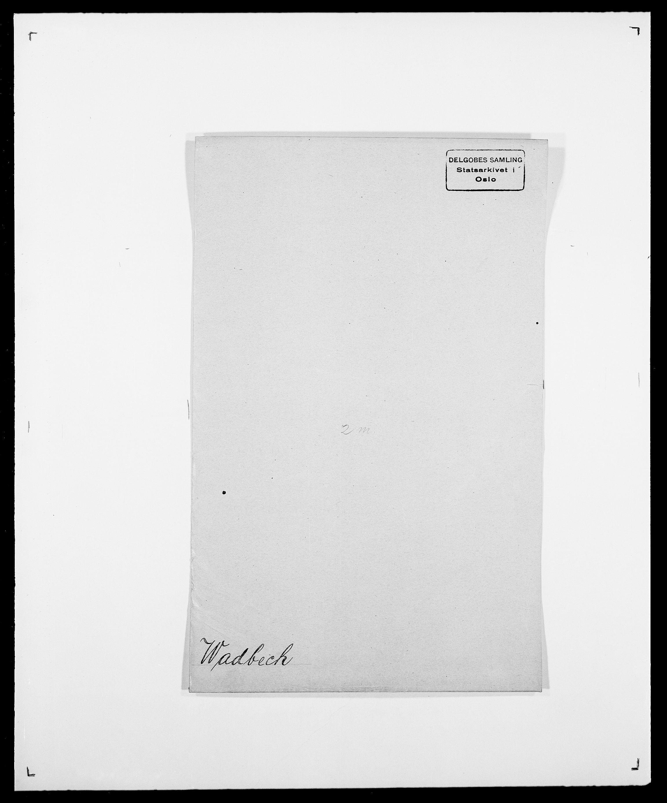 SAO, Delgobe, Charles Antoine - samling, D/Da/L0040: Usgaard - Velund, s. 75