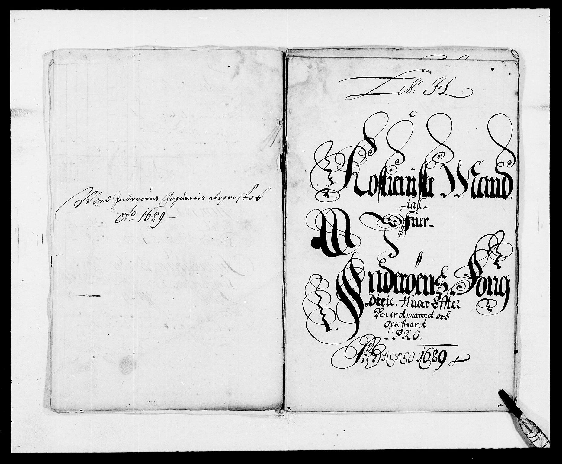 RA, Rentekammeret inntil 1814, Reviderte regnskaper, Fogderegnskap, R63/L4306: Fogderegnskap Inderøy, 1687-1689, s. 438