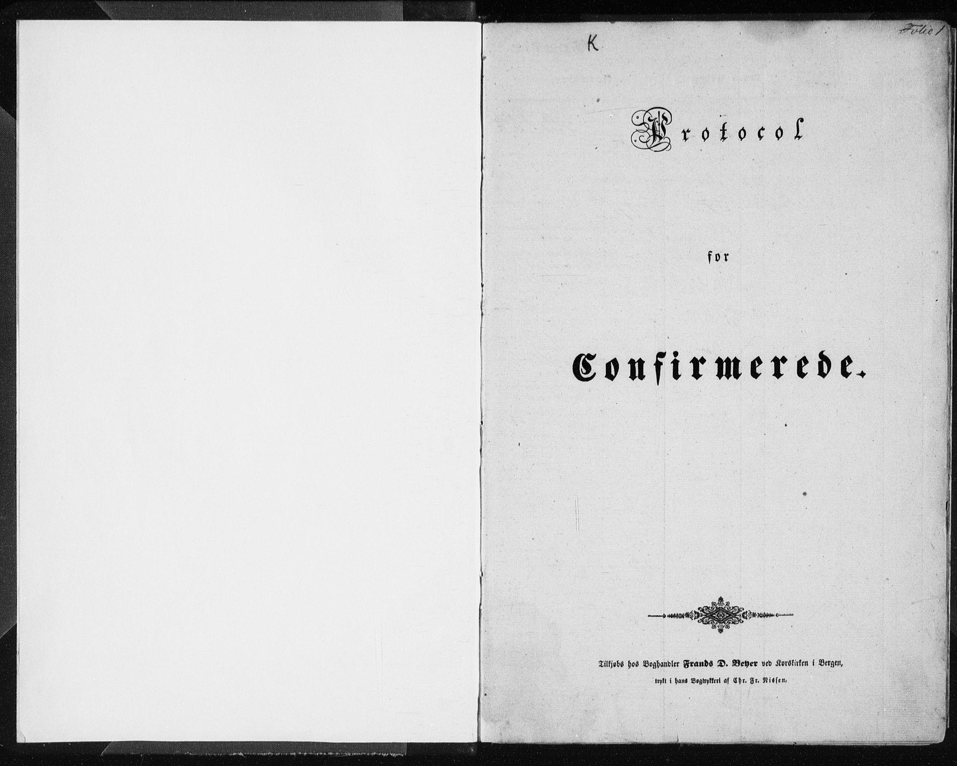 SAB, Lindås Sokneprestembete, H/Haa: Ministerialbok nr. A 13, 1848-1862, s. 1