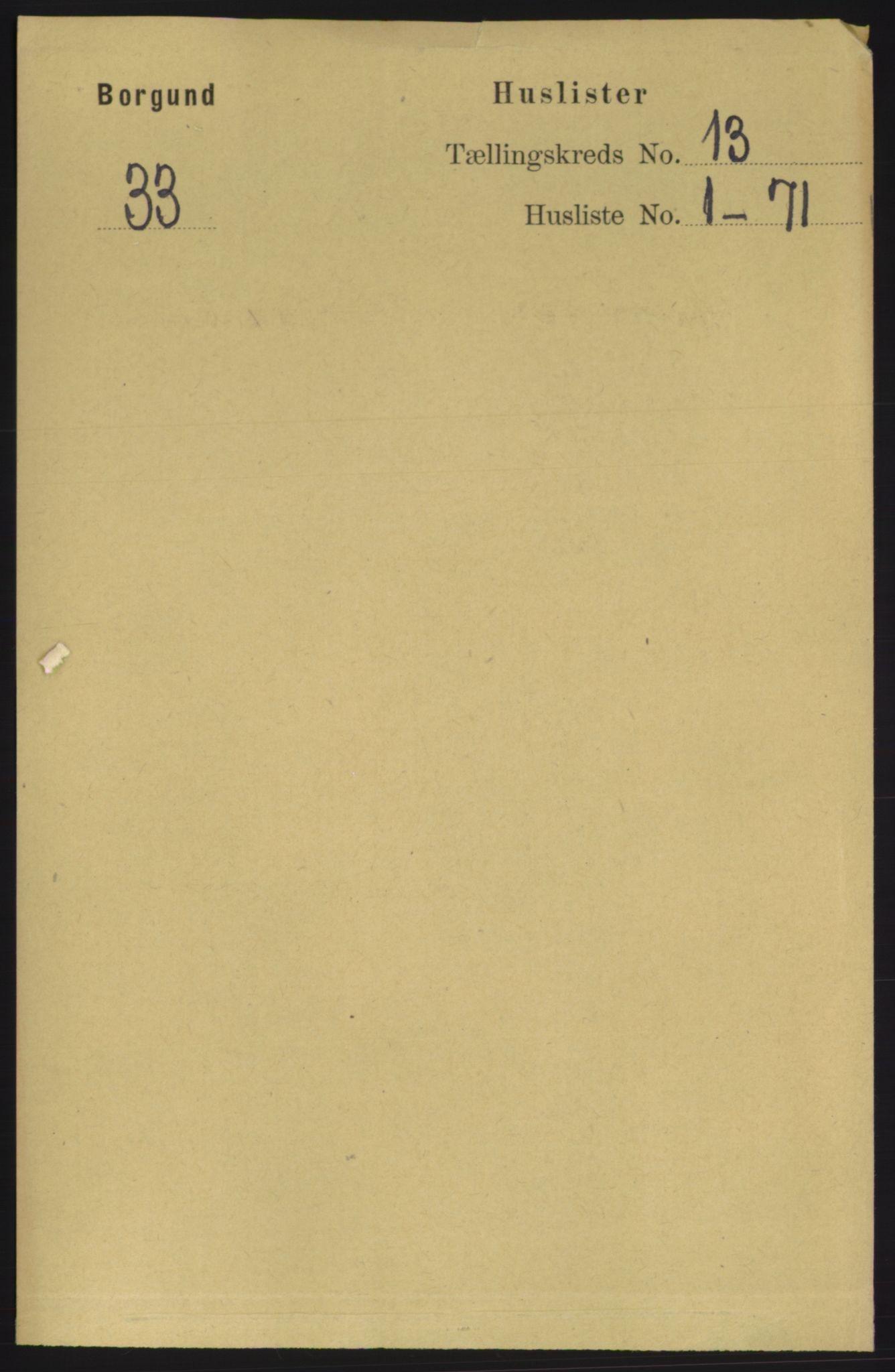 RA, Folketelling 1891 for 1531 Borgund herred, 1891, s. 3467