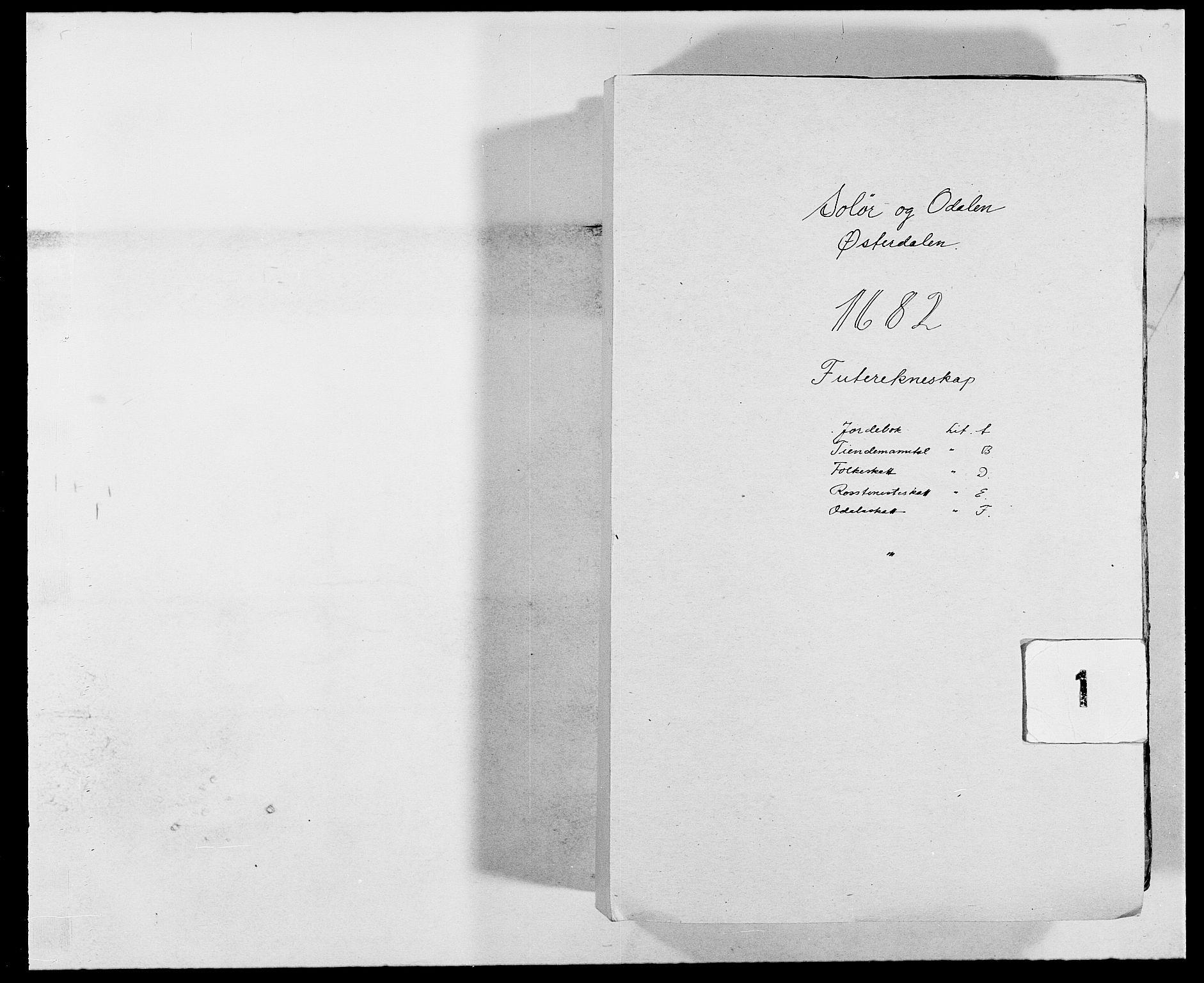 RA, Rentekammeret inntil 1814, Reviderte regnskaper, Fogderegnskap, R13/L0819: Fogderegnskap Solør, Odal og Østerdal, 1682, s. 1