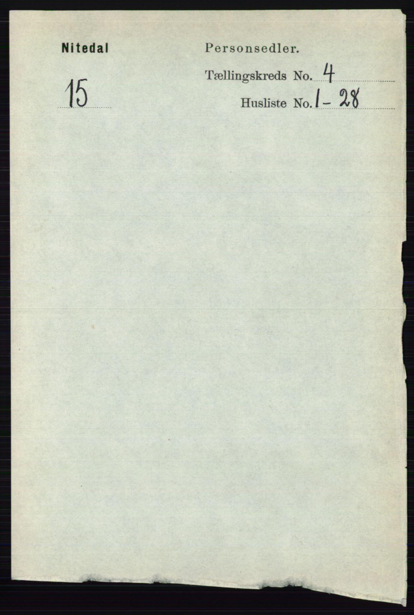 RA, Folketelling 1891 for 0233 Nittedal herred, 1891, s. 1700