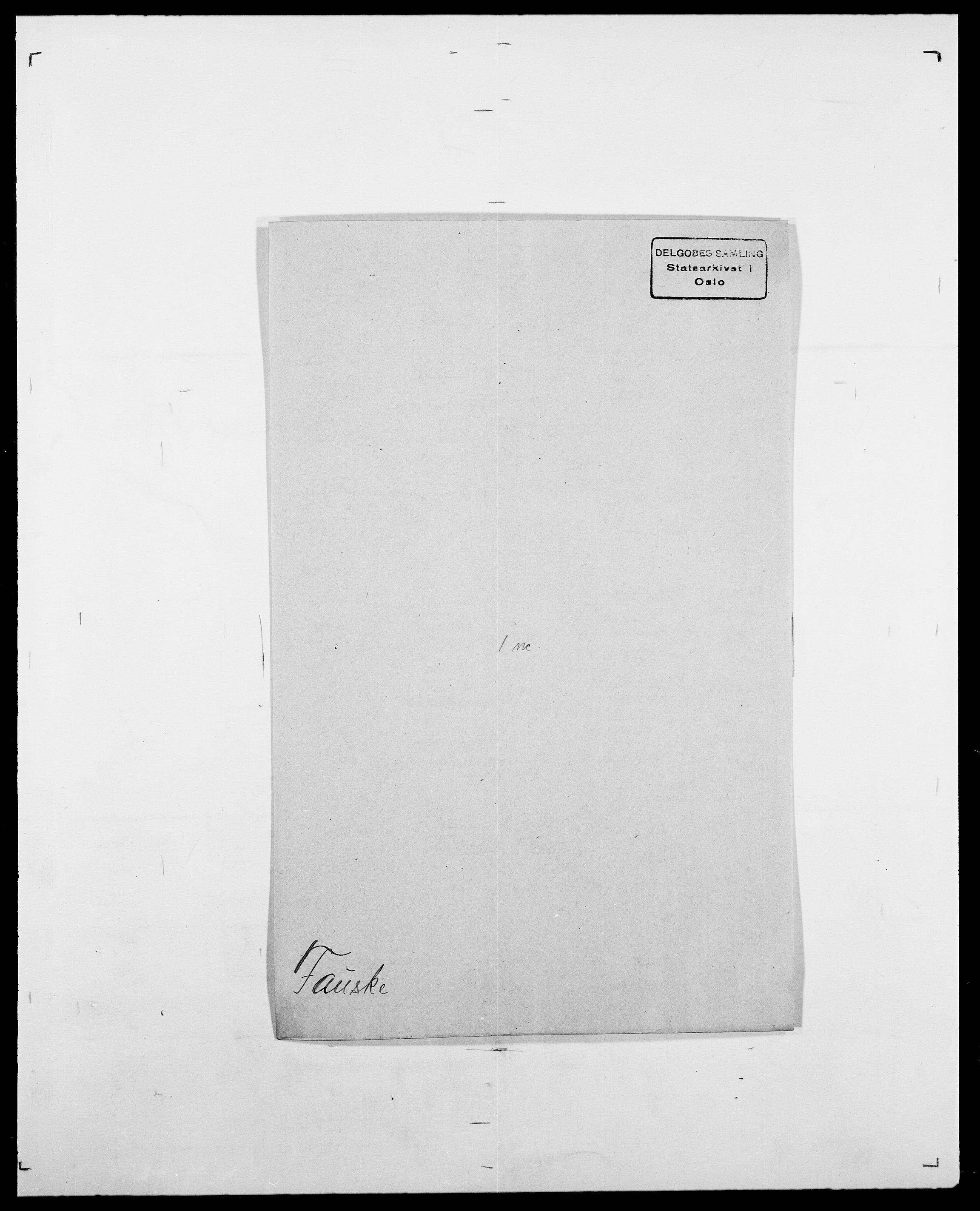 SAO, Delgobe, Charles Antoine - samling, D/Da/L0011: Fahlander - Flood, Flod, s. 254