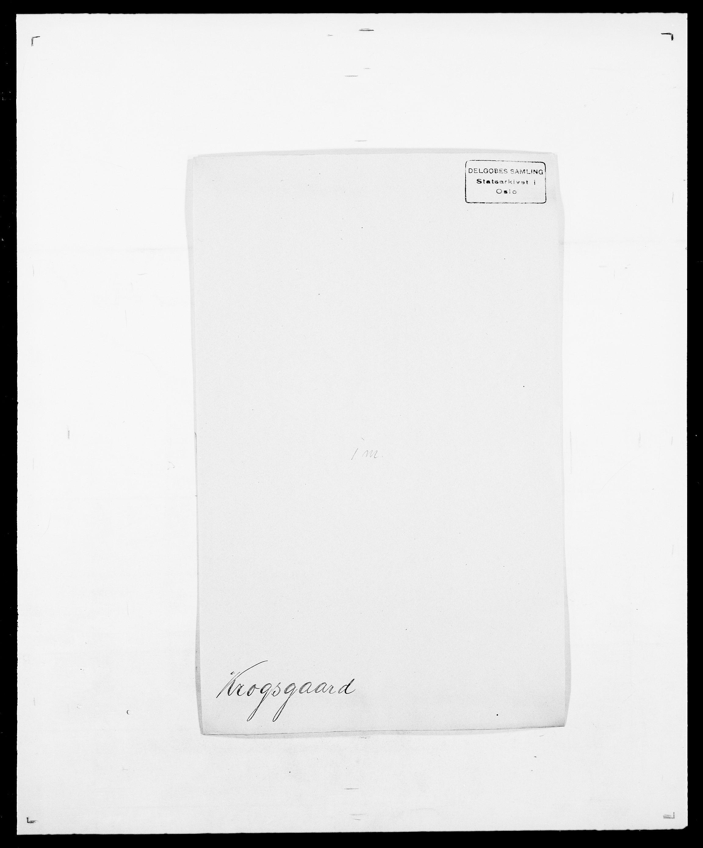 SAO, Delgobe, Charles Antoine - samling, D/Da/L0022: Krog - Lasteen, s. 67