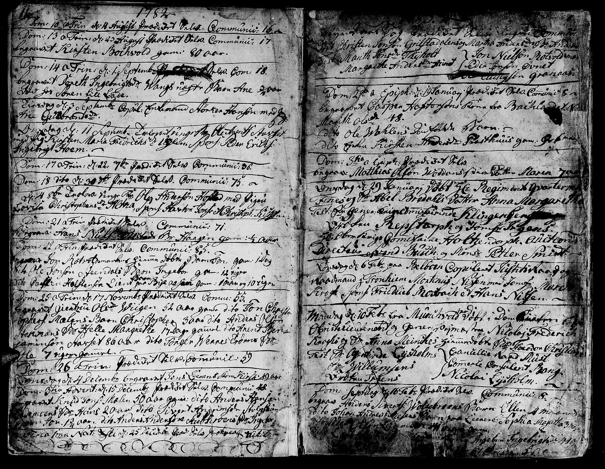 SAT, Ministerialprotokoller, klokkerbøker og fødselsregistre - Sør-Trøndelag, 606/L0280: Ministerialbok nr. 606A02 /1, 1781-1817, s. 11-12