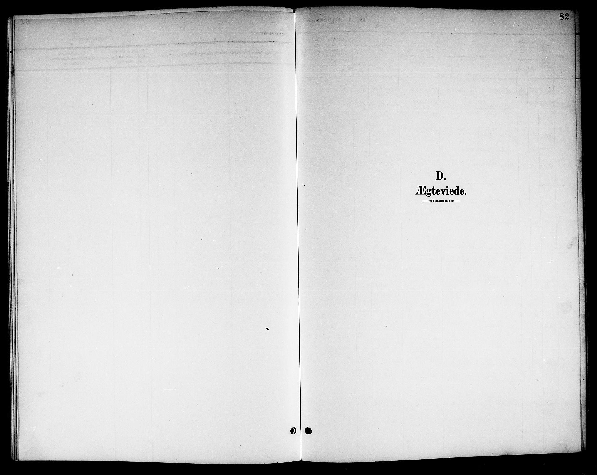 SAKO, Kviteseid kirkebøker, G/Gc/L0001: Klokkerbok nr. III 1, 1893-1916, s. 82