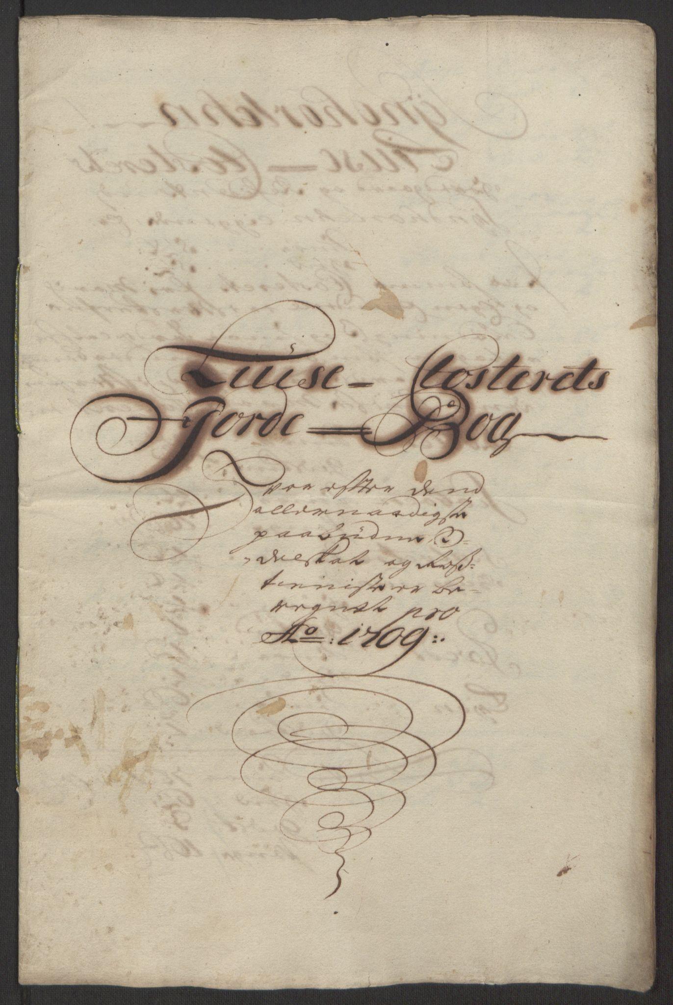 RA, Rentekammeret inntil 1814, Reviderte regnskaper, Fogderegnskap, R50/L3159: Fogderegnskap Lyse kloster, 1691-1709, s. 300