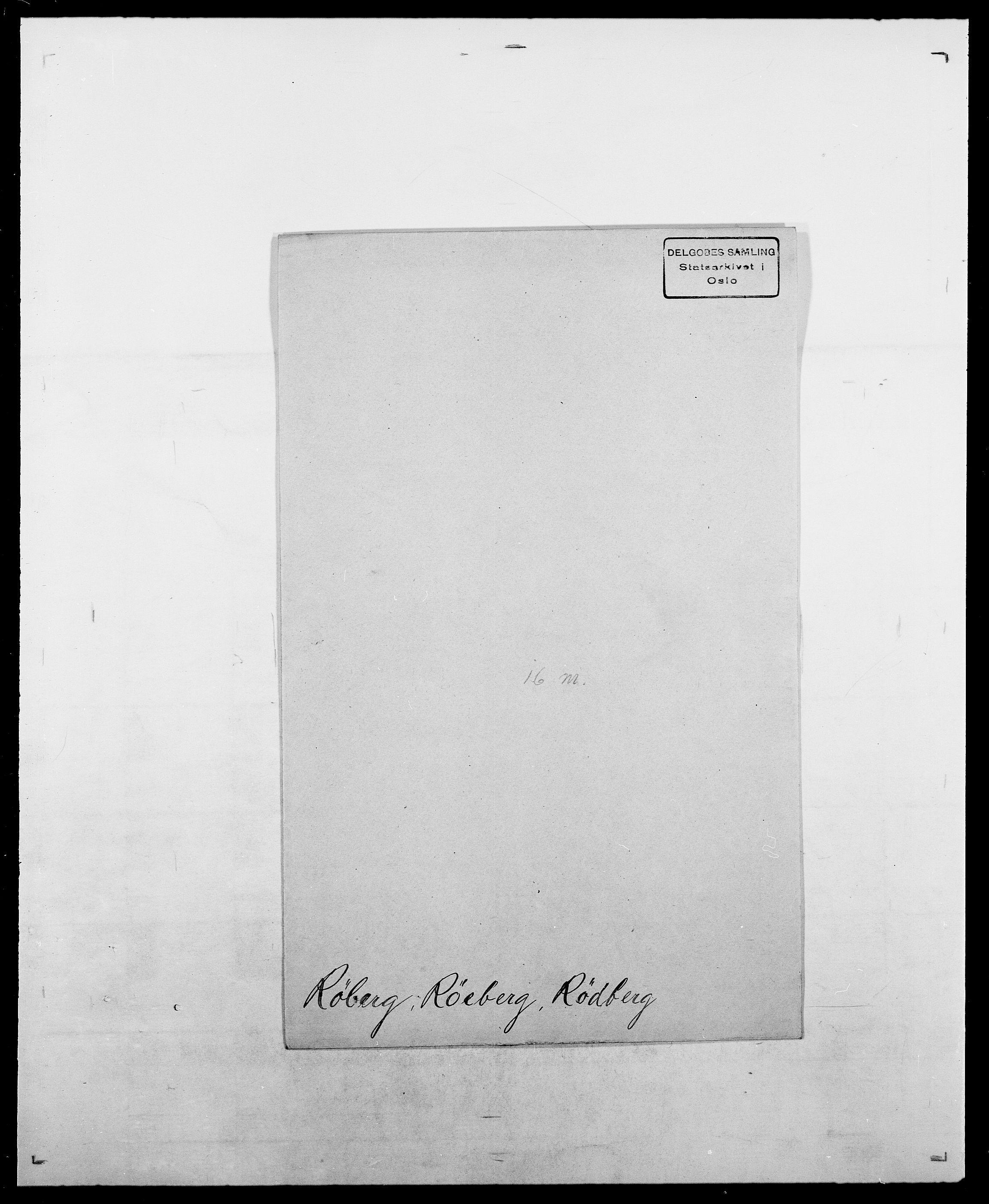 SAO, Delgobe, Charles Antoine - samling, D/Da/L0033: Roald - Røyem, s. 624