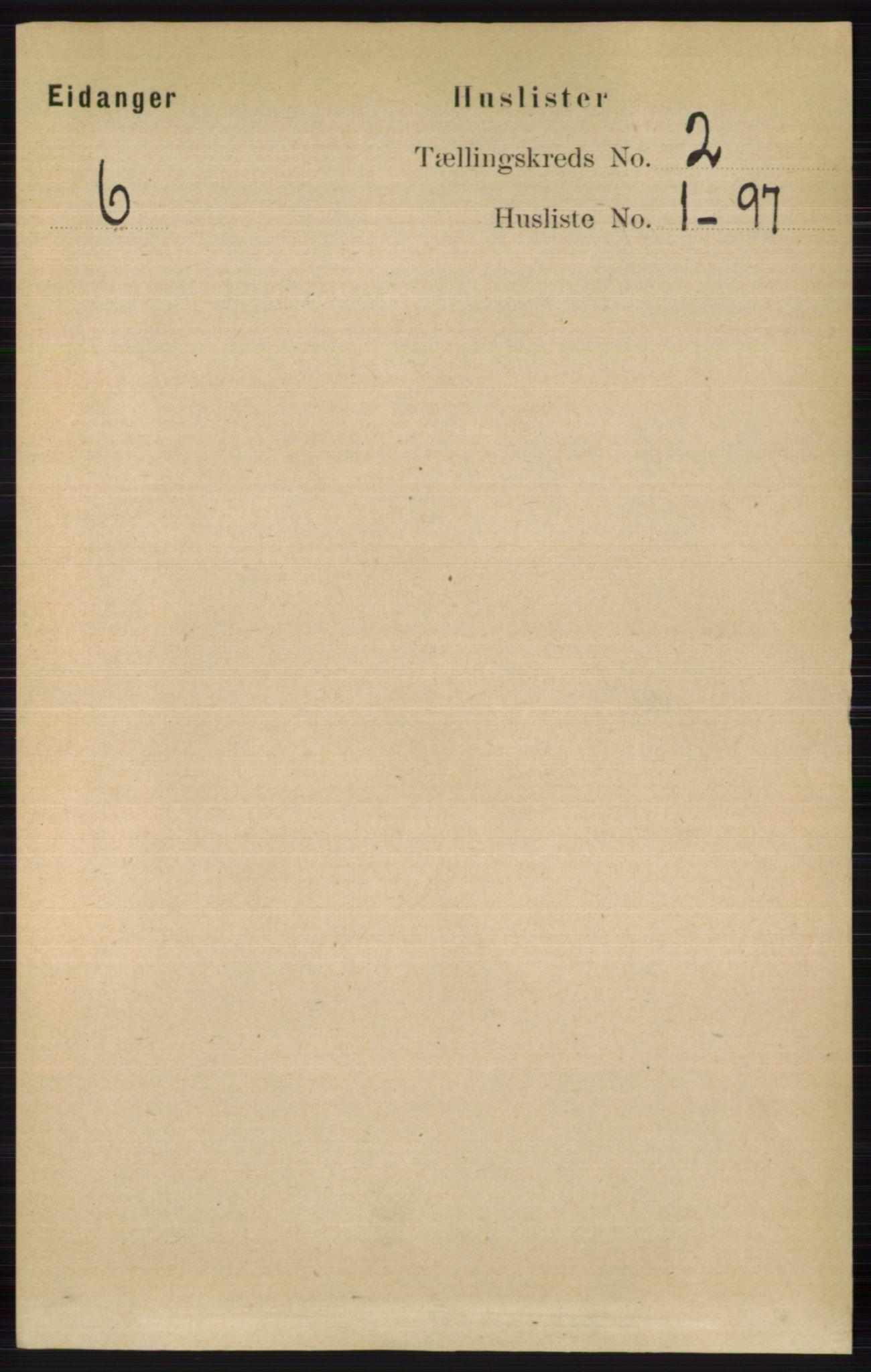 RA, Folketelling 1891 for 0813 Eidanger herred, 1891, s. 766