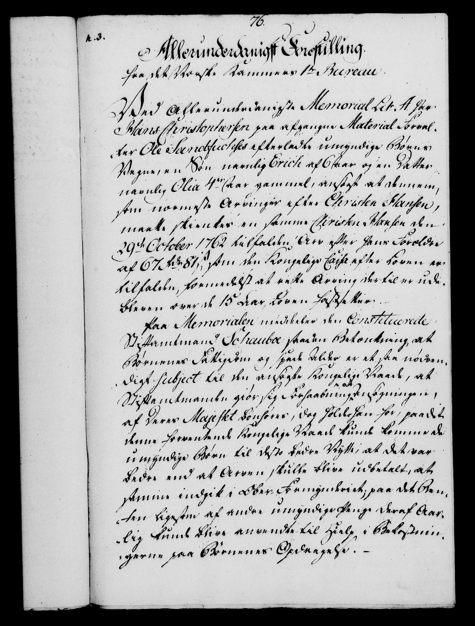 RA, Rentekammeret, Kammerkanselliet, G/Gf/Gfa/L0054: Norsk relasjons- og resolusjonsprotokoll (merket RK 52.54), 1771-1772, s. 527