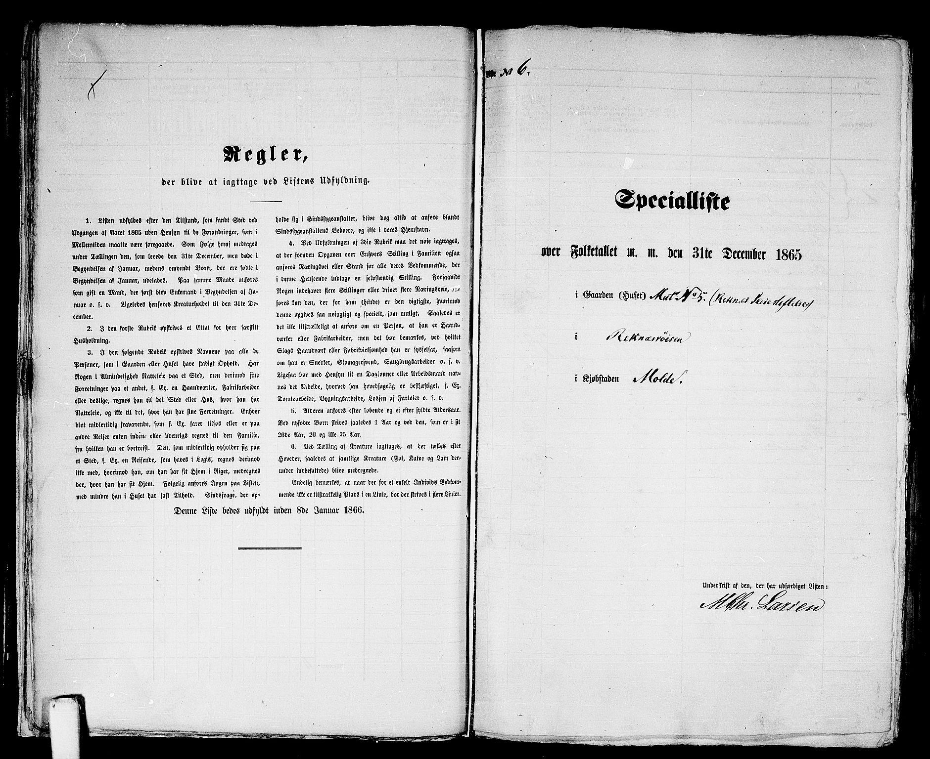 RA, Folketelling 1865 for 1502P Molde prestegjeld, 1865, s. 18