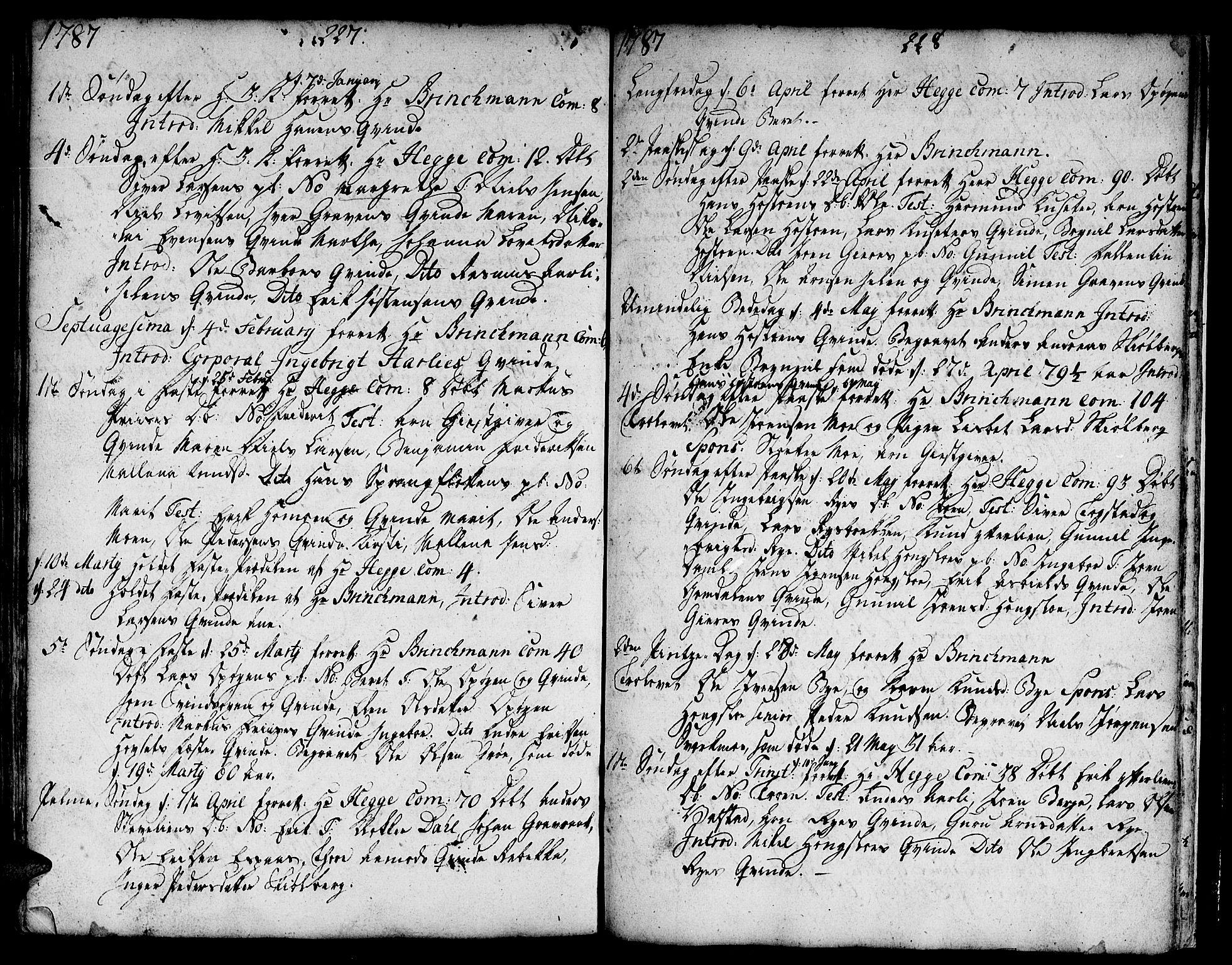 SAT, Ministerialprotokoller, klokkerbøker og fødselsregistre - Sør-Trøndelag, 671/L0840: Ministerialbok nr. 671A02, 1756-1794, s. 327-328