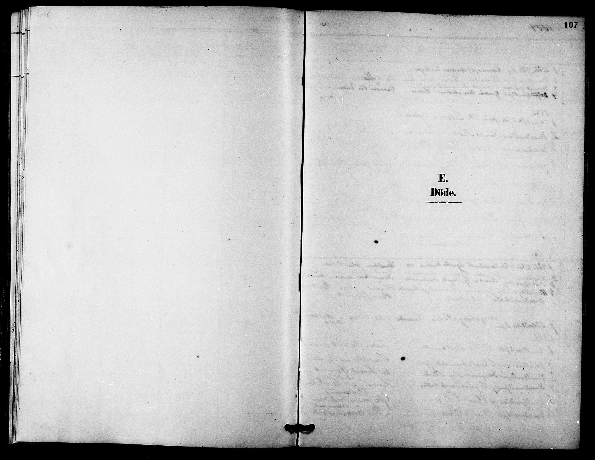 SAT, Ministerialprotokoller, klokkerbøker og fødselsregistre - Sør-Trøndelag, 633/L0519: Klokkerbok nr. 633C01, 1884-1905, s. 107