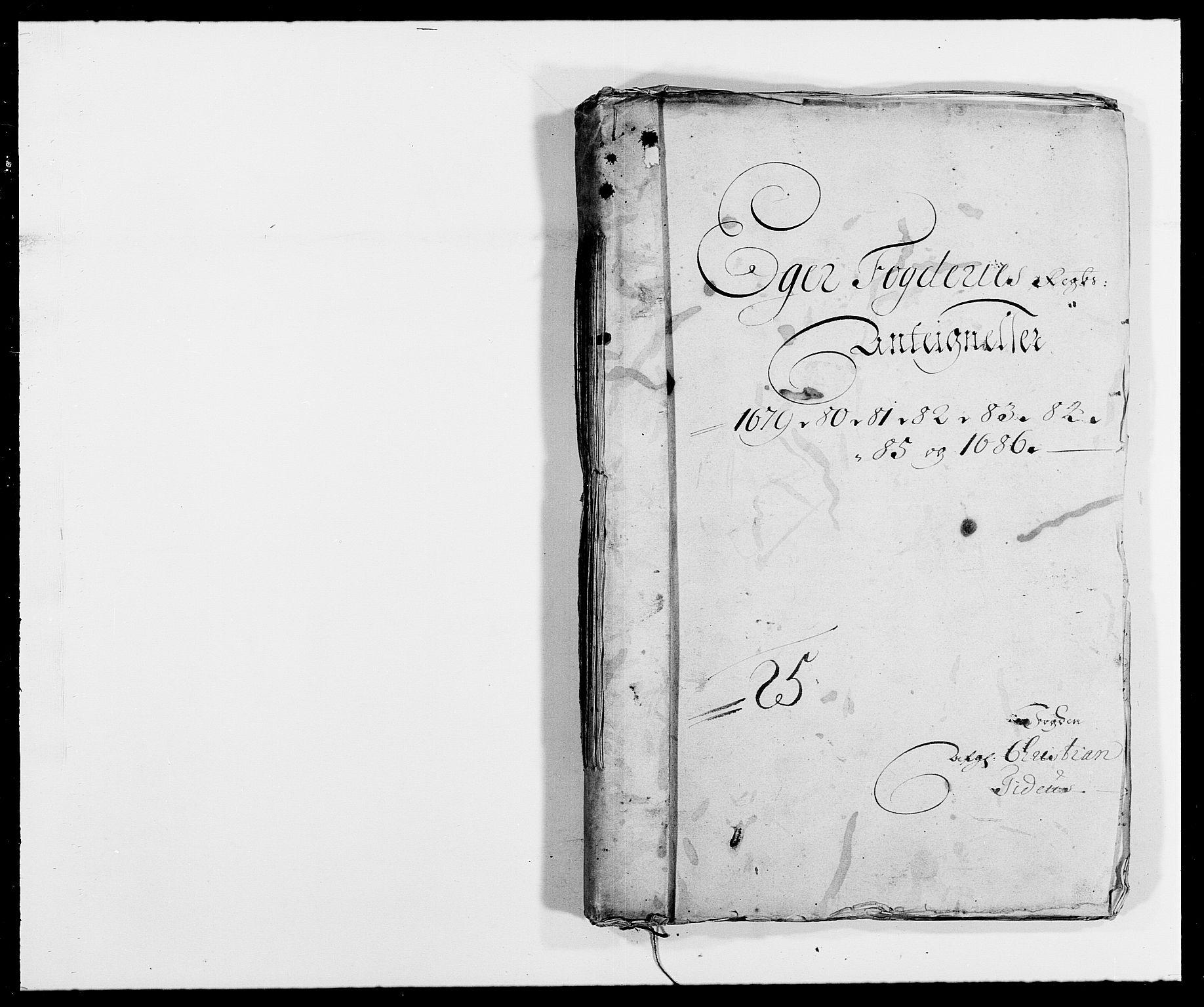 RA, Rentekammeret inntil 1814, Reviderte regnskaper, Fogderegnskap, R26/L1685: Fogderegnskap Eiker, 1679-1686, s. 316