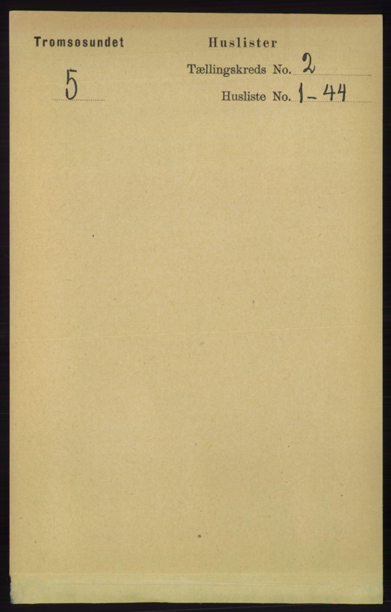 RA, Folketelling 1891 for 1934 Tromsøysund herred, 1891, s. 512