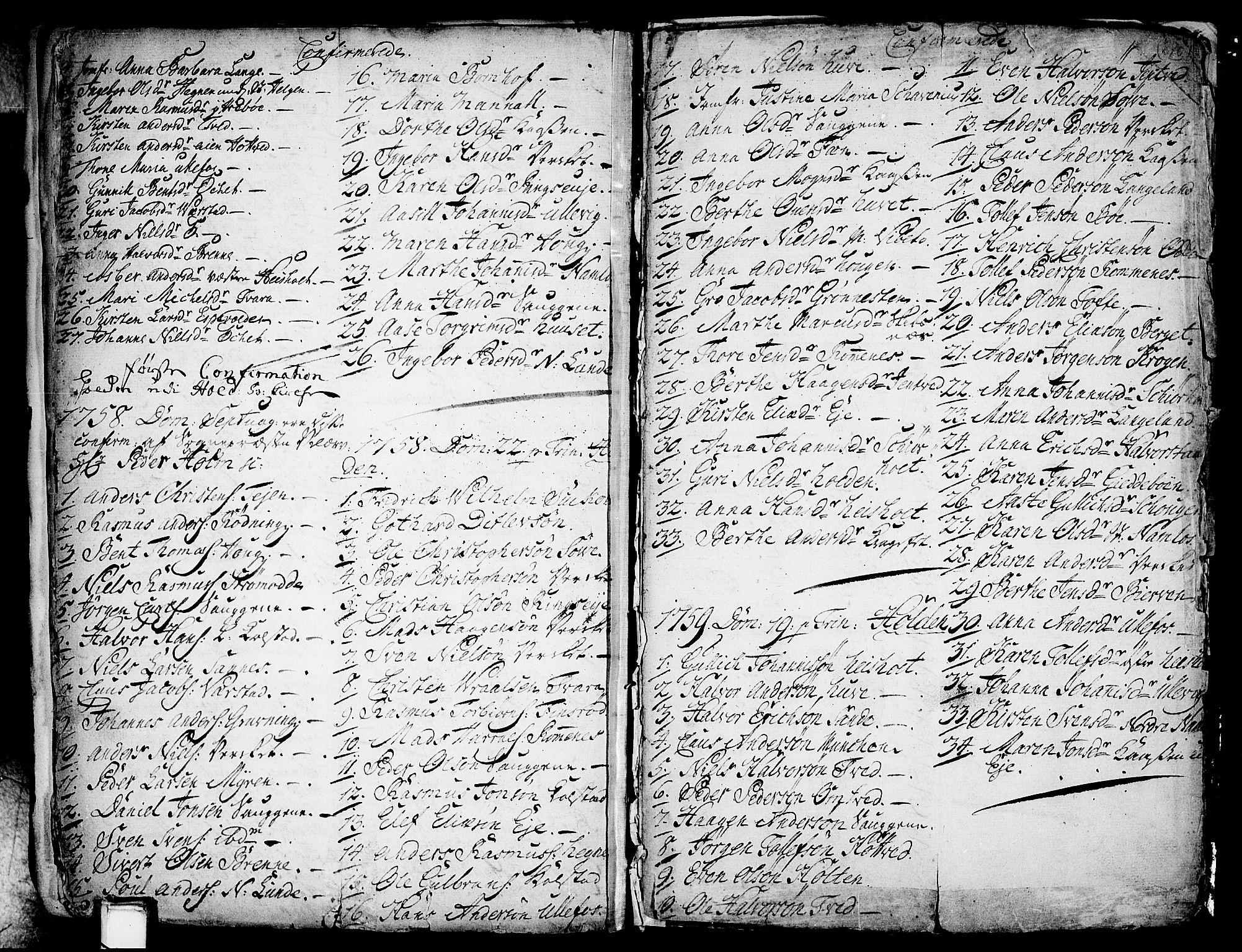 SAKO, Holla kirkebøker, F/Fa/L0001: Ministerialbok nr. 1, 1717-1779, s. 270