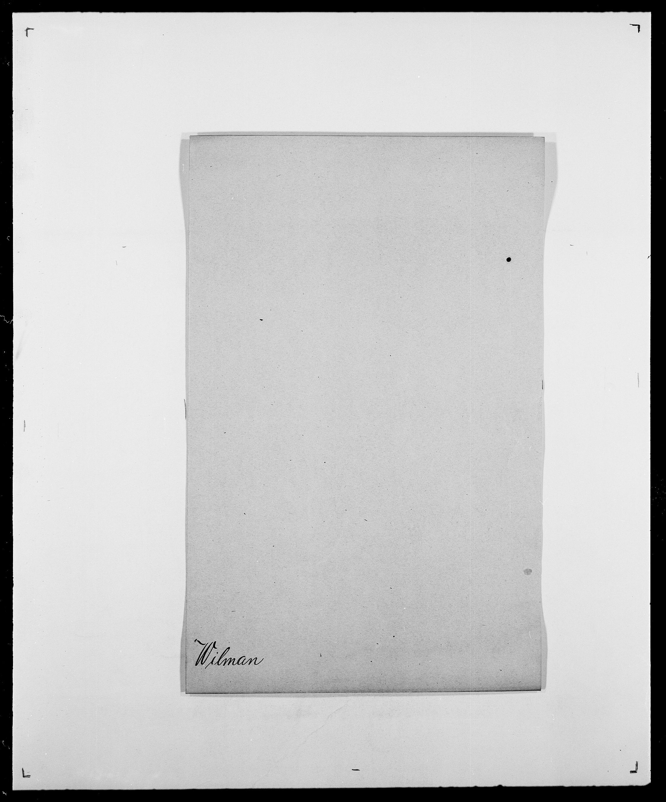 SAO, Delgobe, Charles Antoine - samling, D/Da/L0042: Vilain - Wulf, Wulff, se også Wolf, s. 107